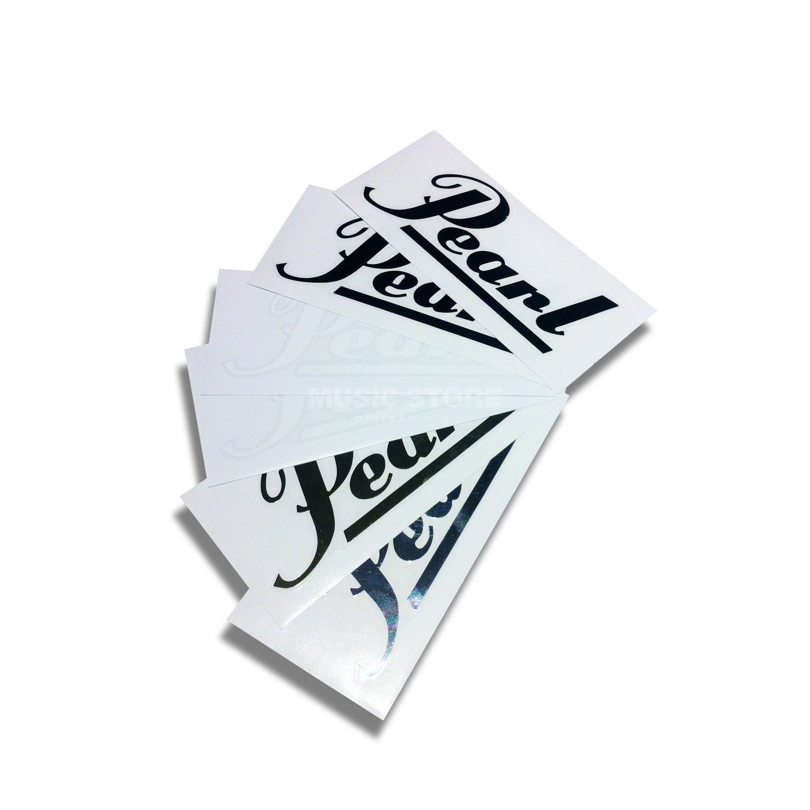 Pearl Sticker Pack C-PPK1 Black, White, Chrome, Gold Produktbillede