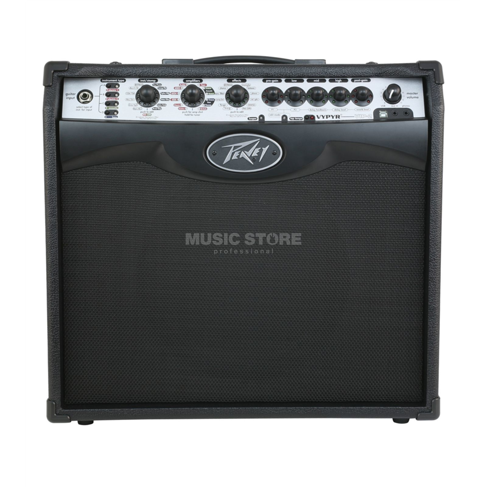 "Peavey Vypyr VIP 2 40 Watts, 1x12"" B-Stock Demo Produktbillede"