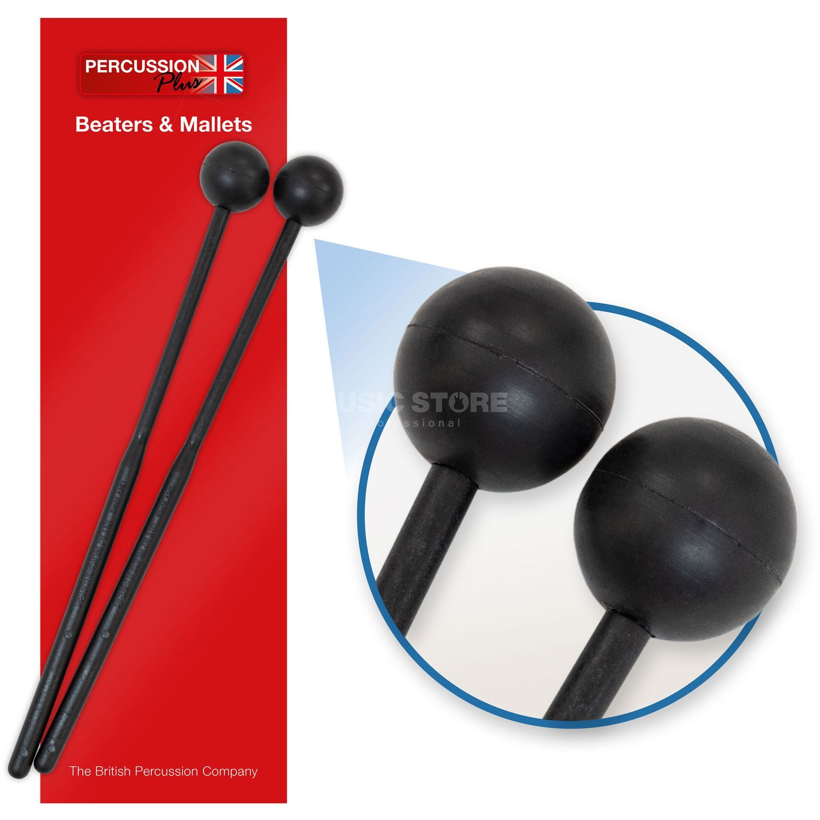 Percussion Plus PP064 Beaters for Log Drums Produktbillede