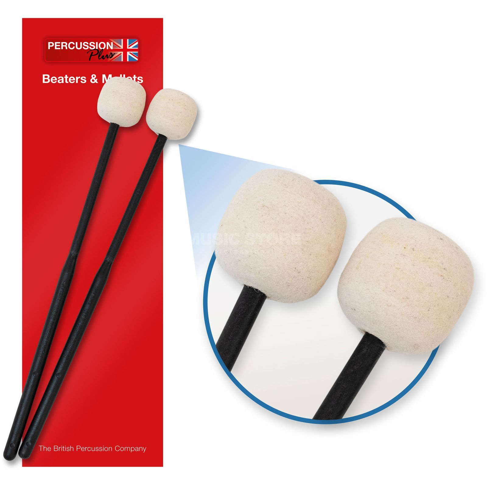 Percussion Plus PP070 Xylophone Felt Beaters  Produktbillede