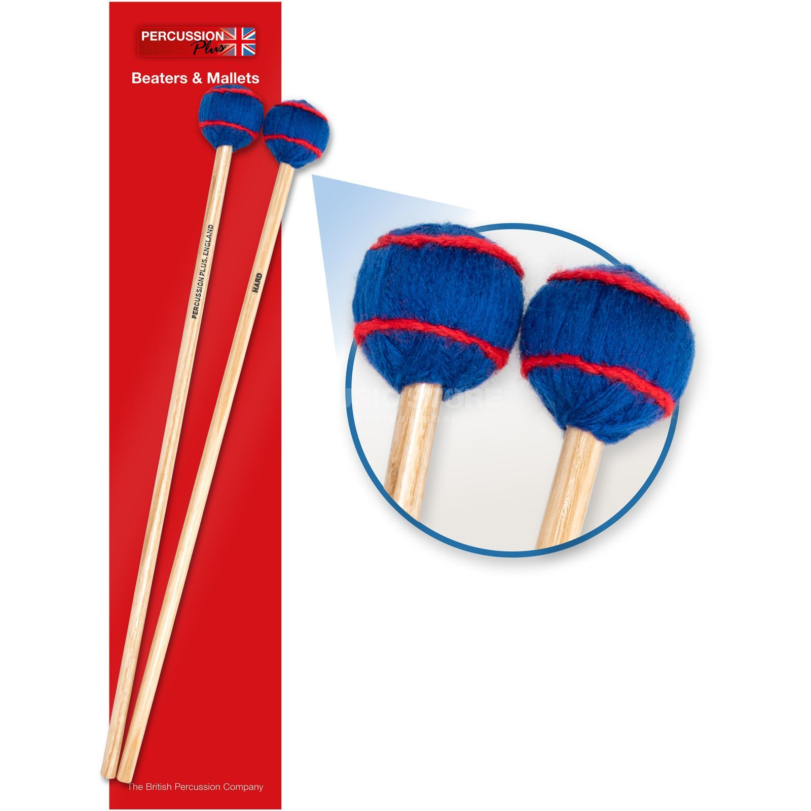 Percussion Plus PP075 Vibraphon Mallets, Hard Produktbillede