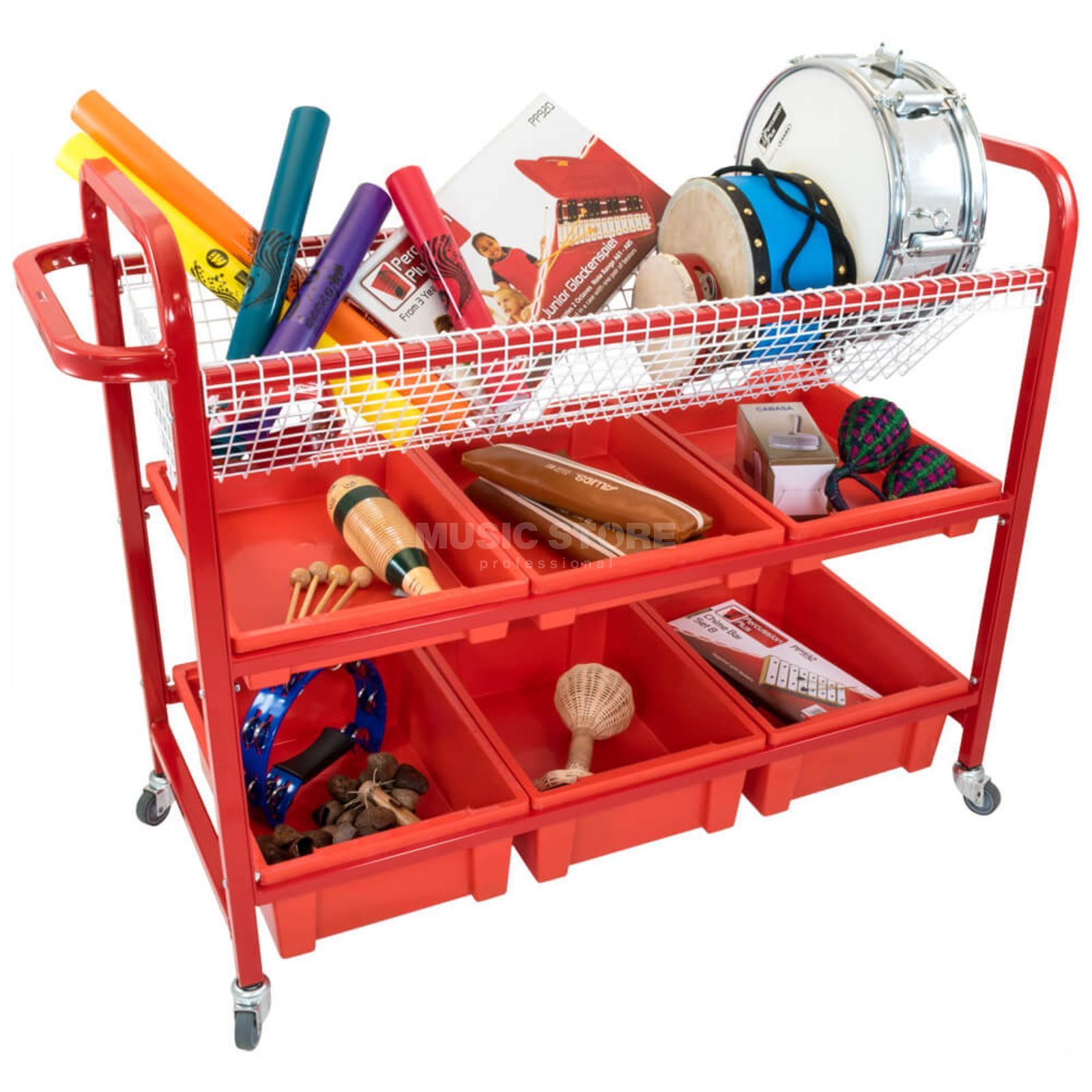 Percussion Plus PP1057 Music Trolley  Produktbillede