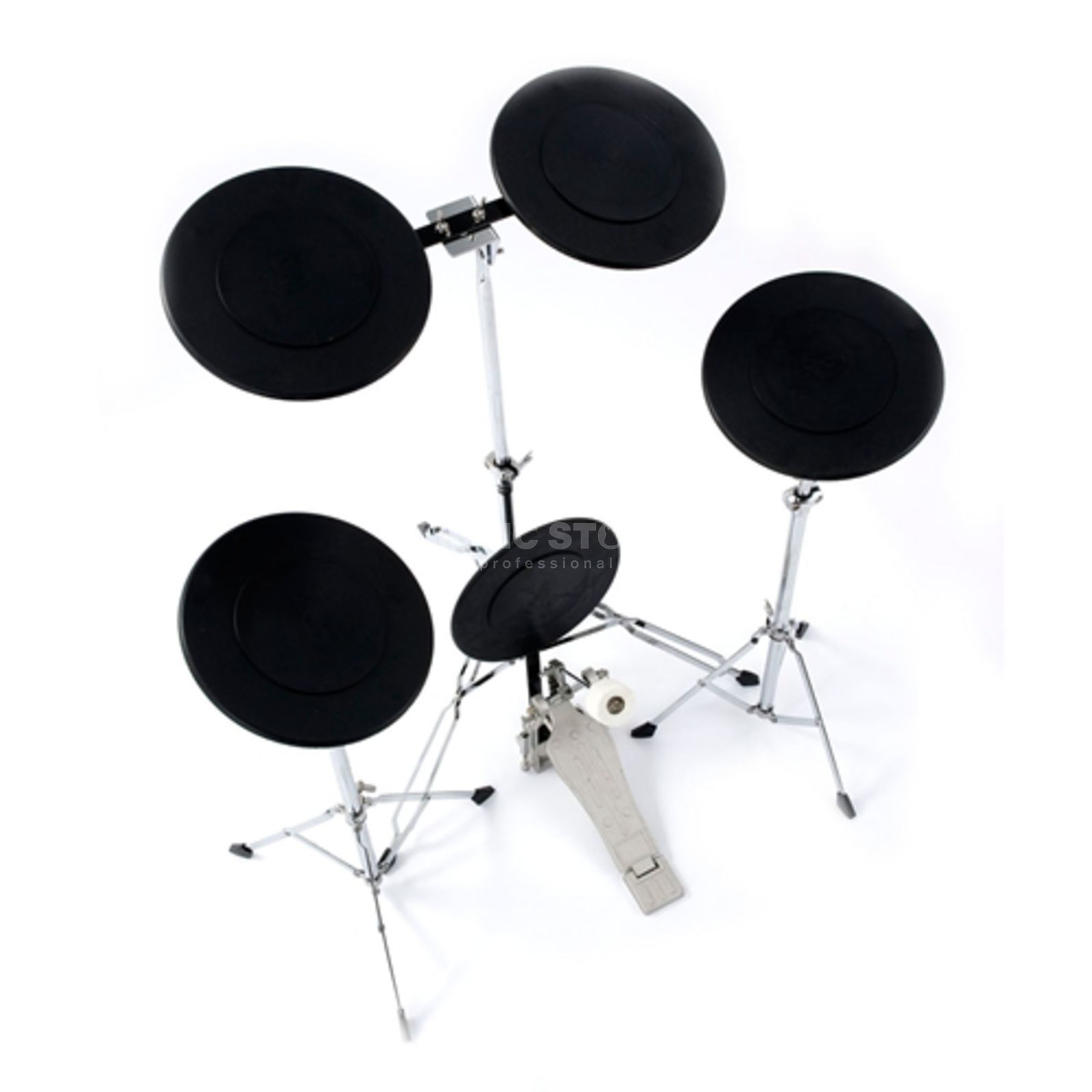 Percussion Plus PP1069 Practice Drum Kit  Produktbillede