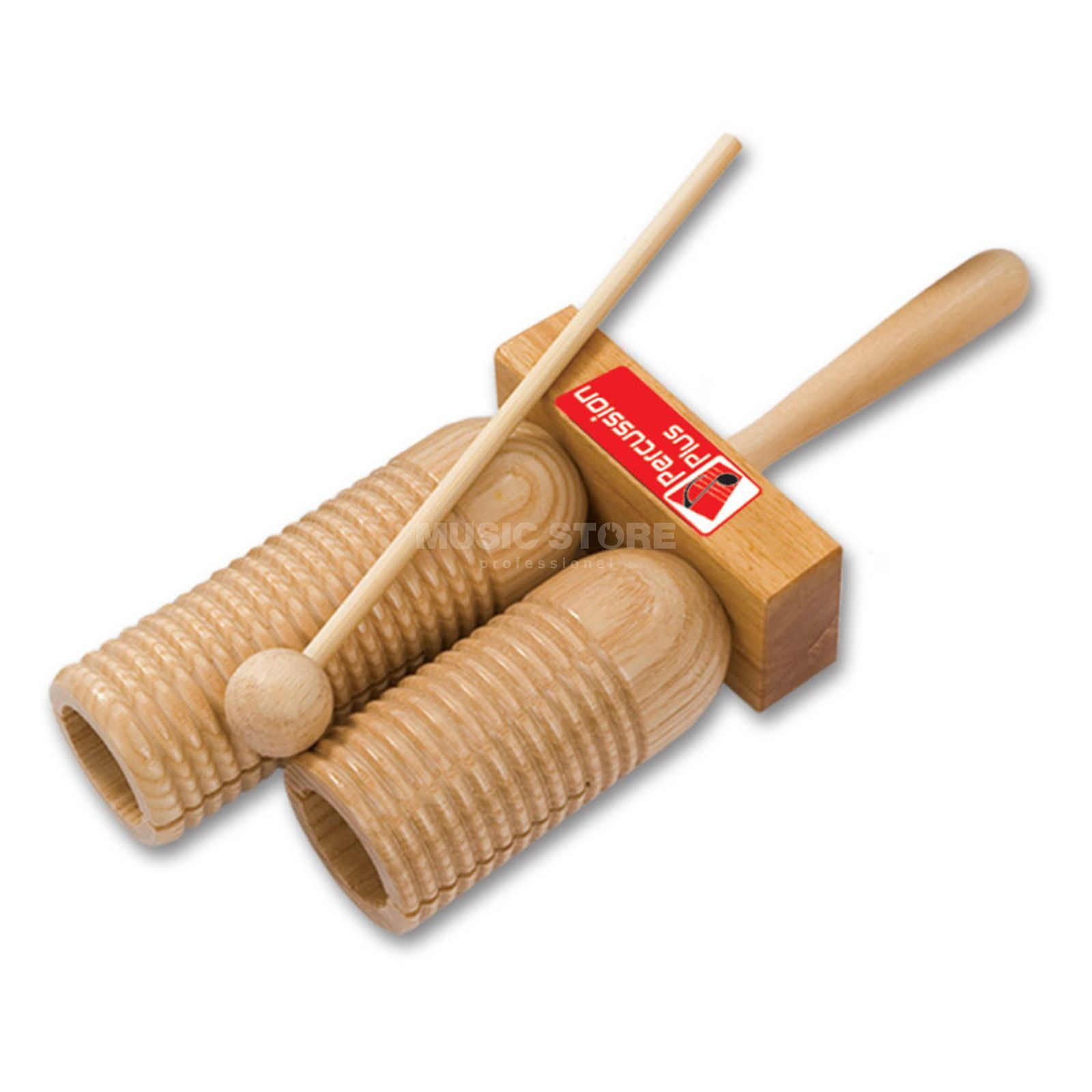 Percussion Plus PP252 Wood Agogo, incl. Beater Produktbillede