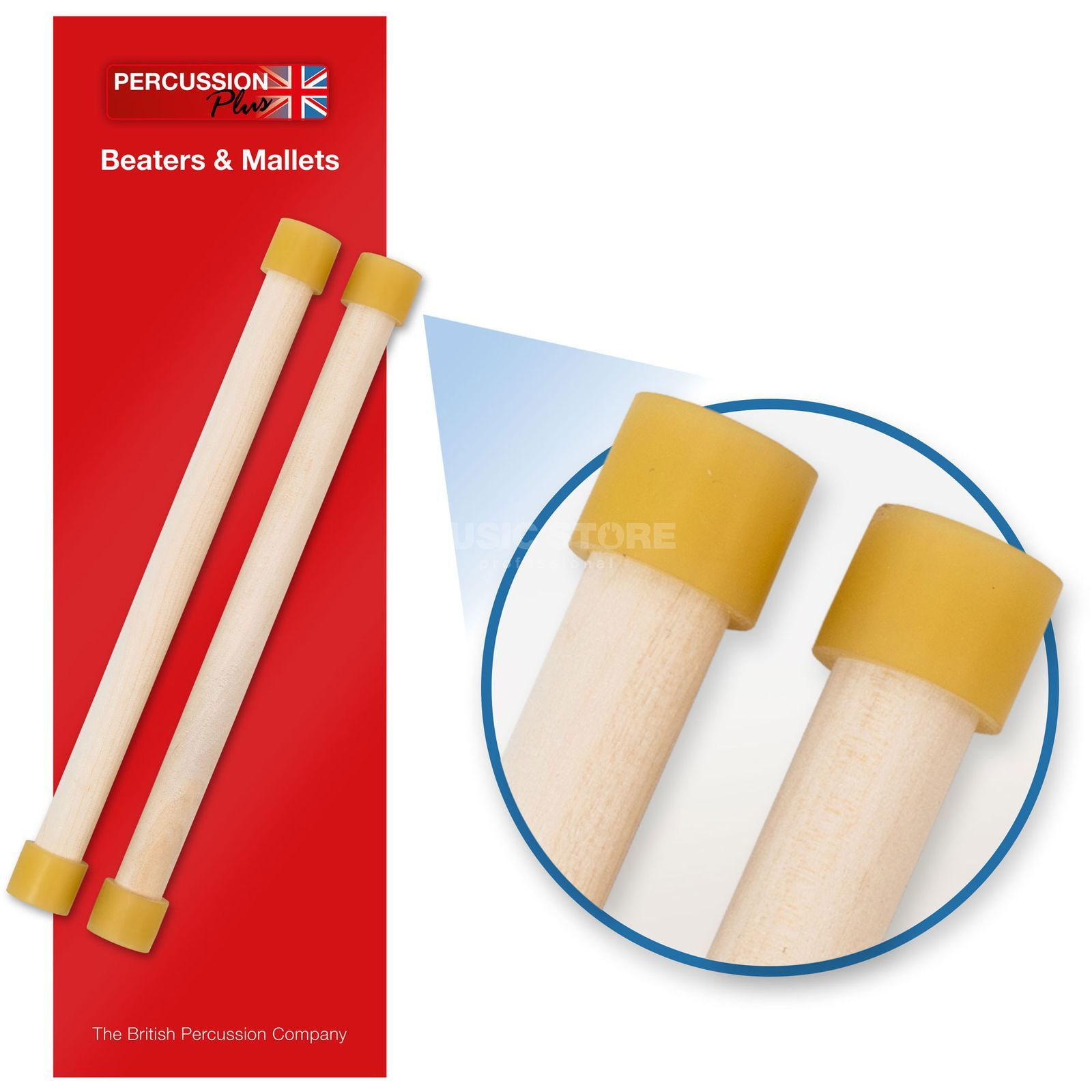 Percussion Plus PP462 Mini Pan Sticks  Produktbild