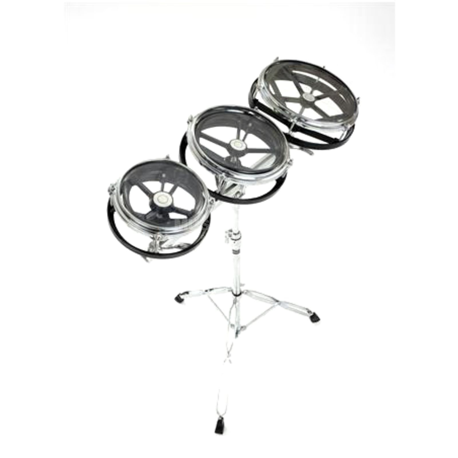 "Percussion Plus PP691 Rotodrums Set 6"", 8"", 10"", with Stand Produktbild"