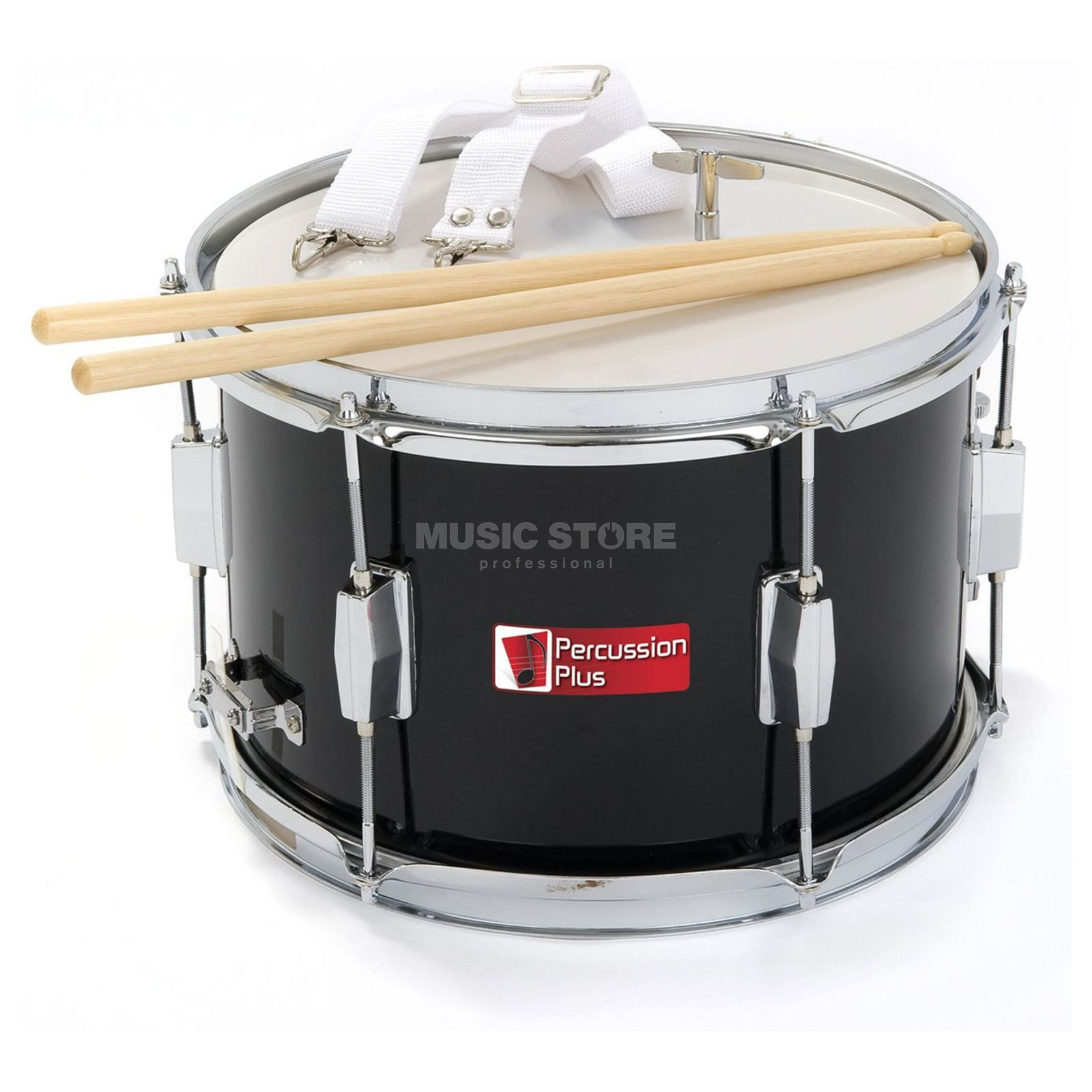 "Percussion Plus PP786 Marching Snare 12"", incl. Sticks & Strap Produktbillede"
