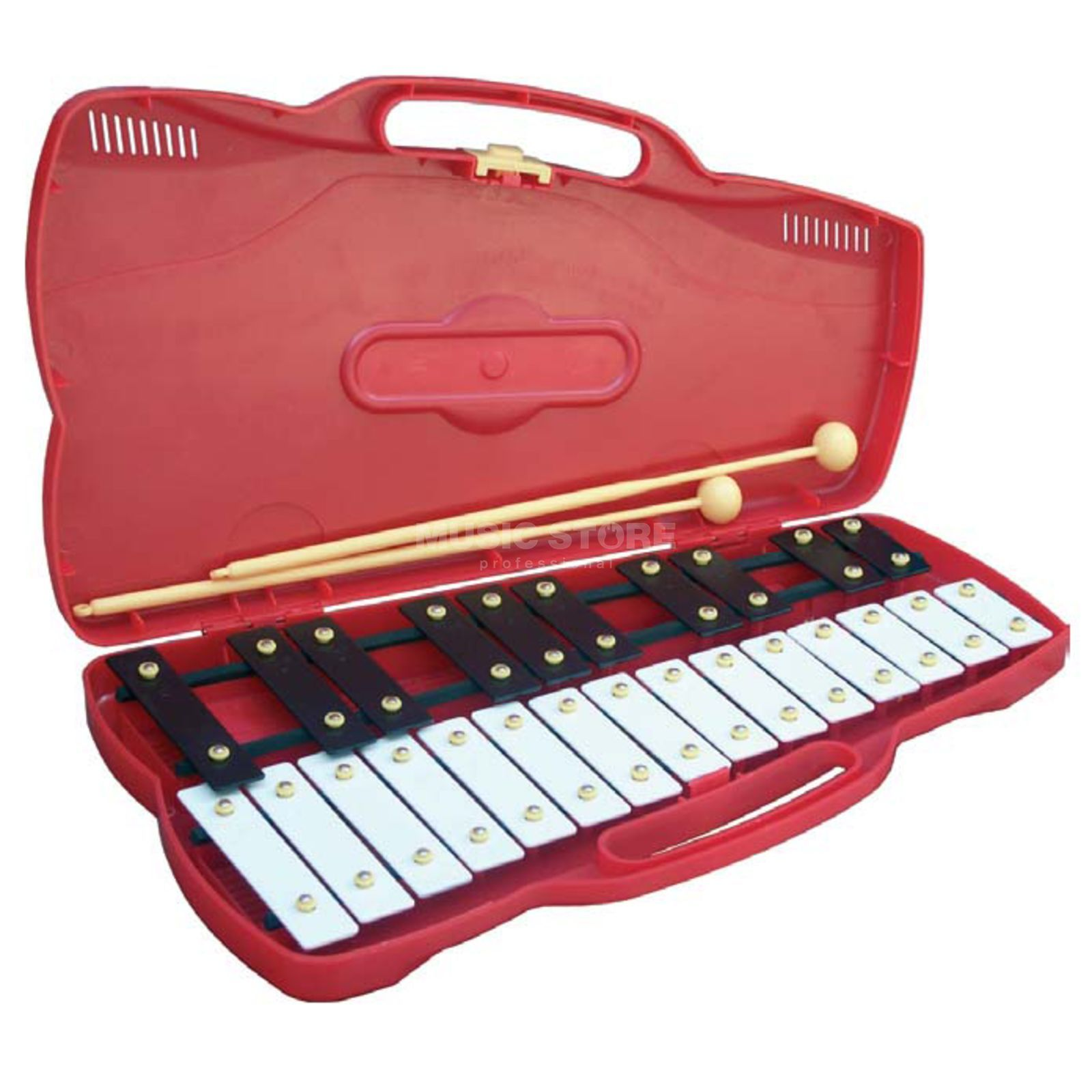 Percussion Plus PP920 Junior Glockenspiel, Soprano, incl. Case + Mallet Produktbillede