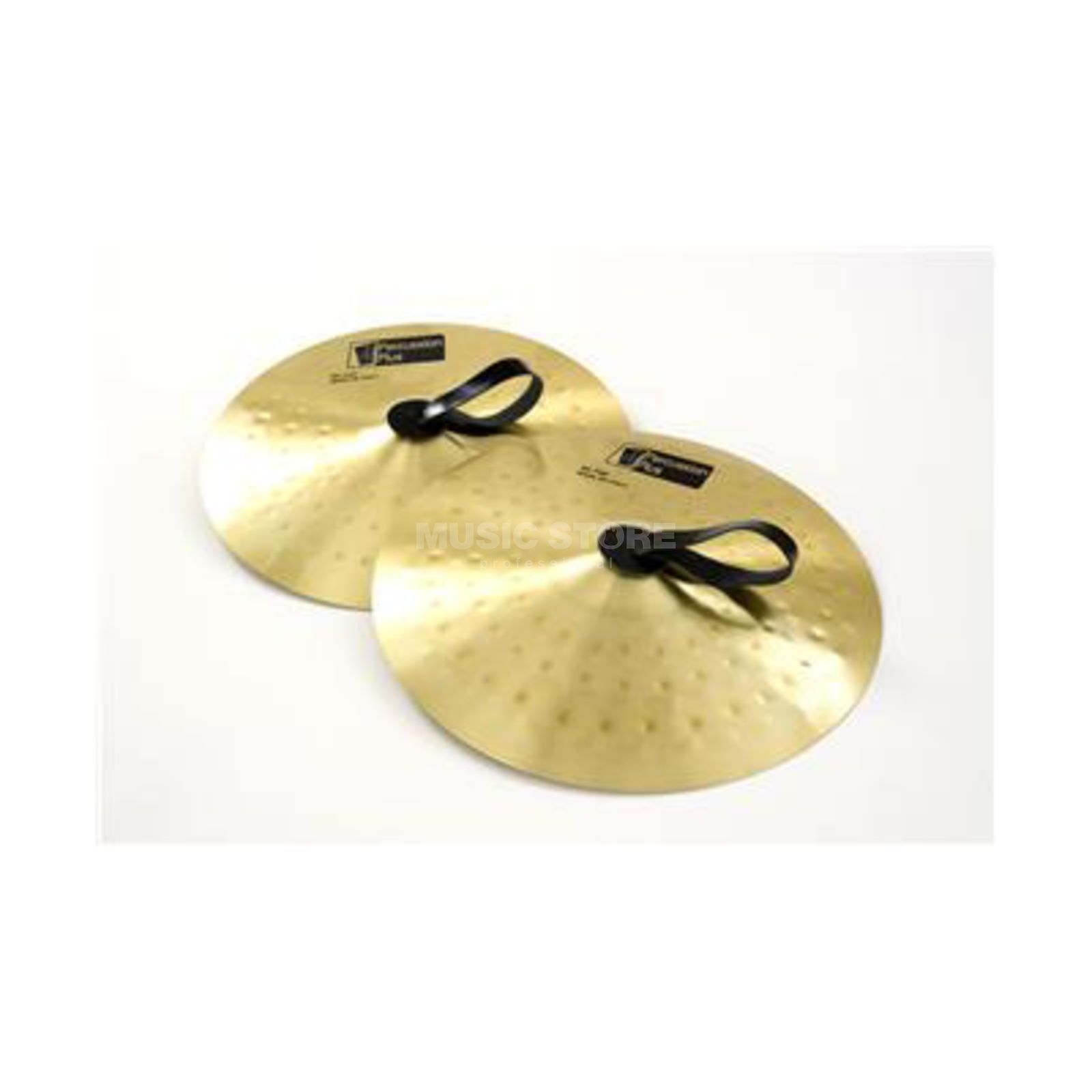 "Percussion Plus PP958 Cymbals 12"", Marching Pair, with straps Produktbillede"