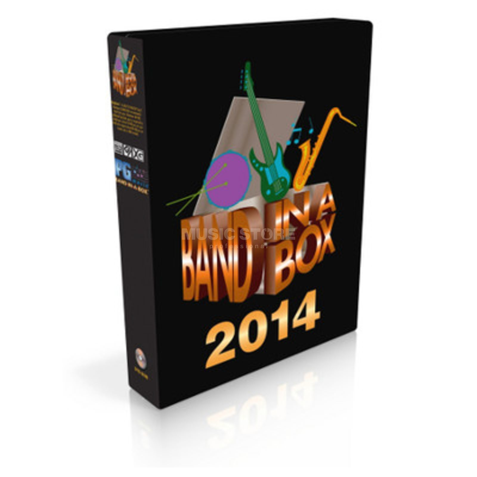 PG Music Band-in-a-Box 2014/2015 Pro UP CG PC DEU Produktbild