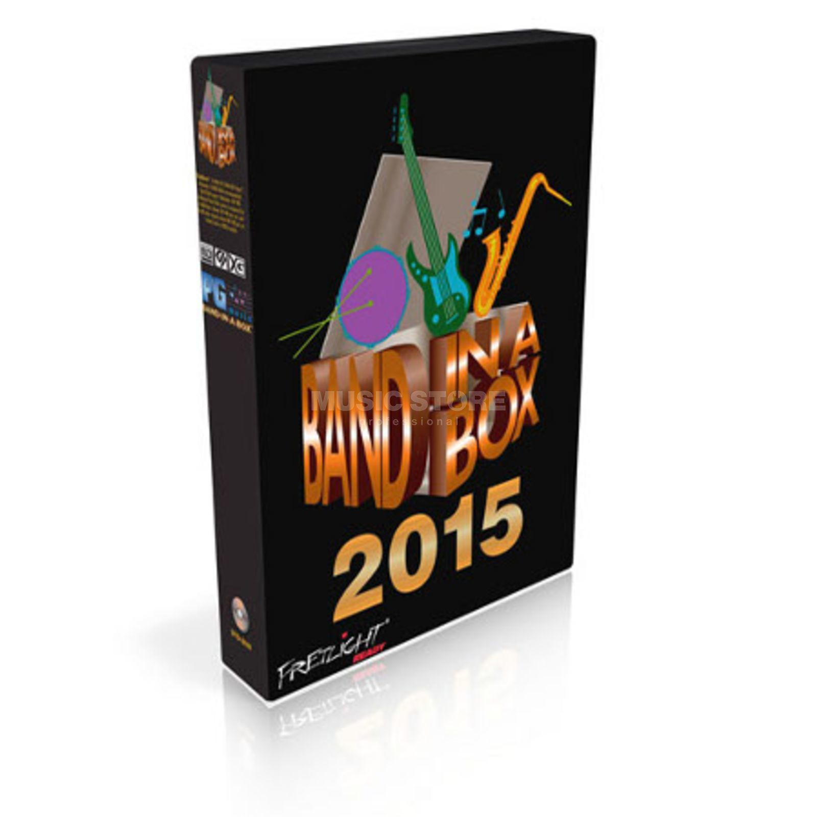 PG Music Band-in-a-Box 2015 UltraPlus HD PC DE B-STOCK Produktbild