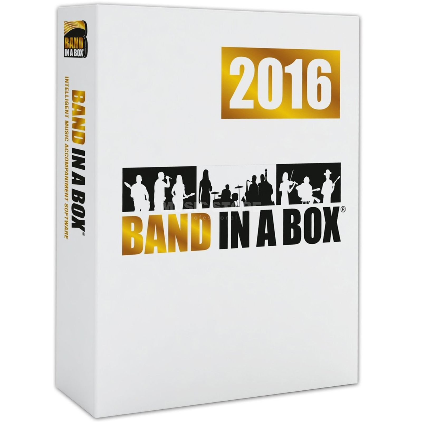 PG Music Band in a Box 2016 MEGAPAK PC DE Produktbild