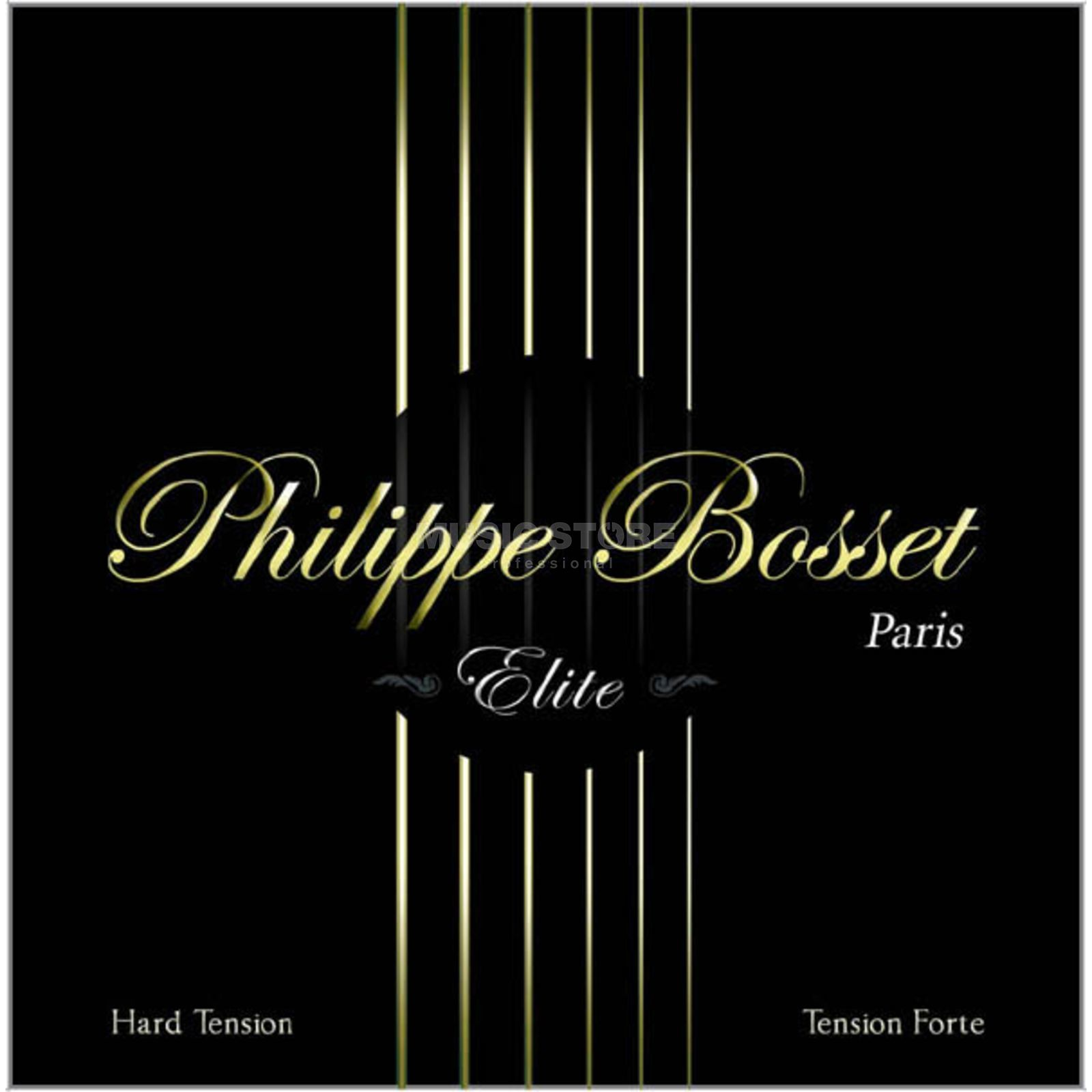 Philippe Bosset Classic ELITE Black Nylon High Tension Produktbild