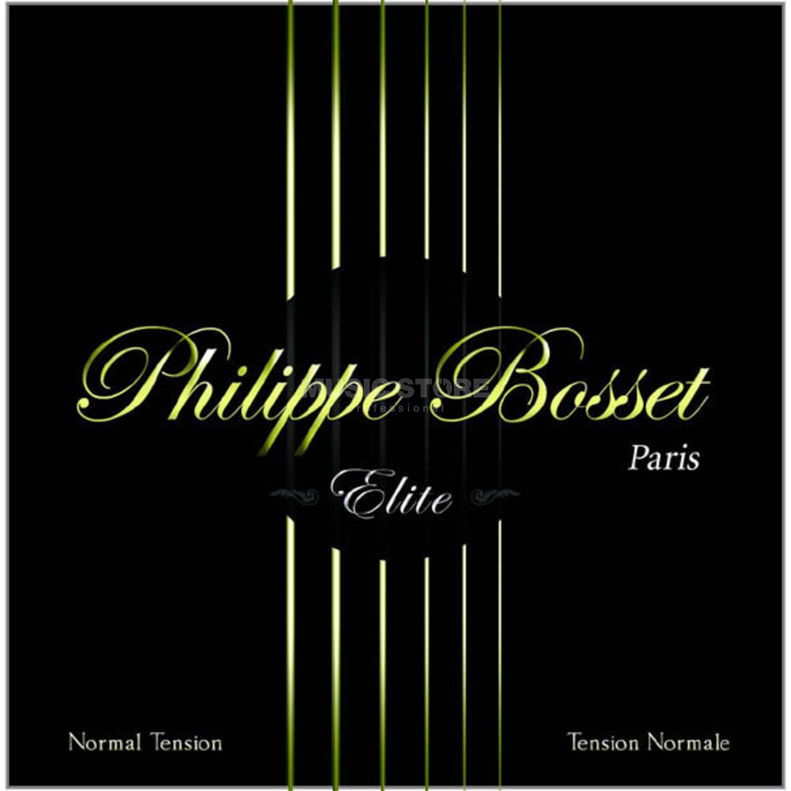 Philippe Bosset Classic ELITE Black Nylon Normal Tension Produktbillede