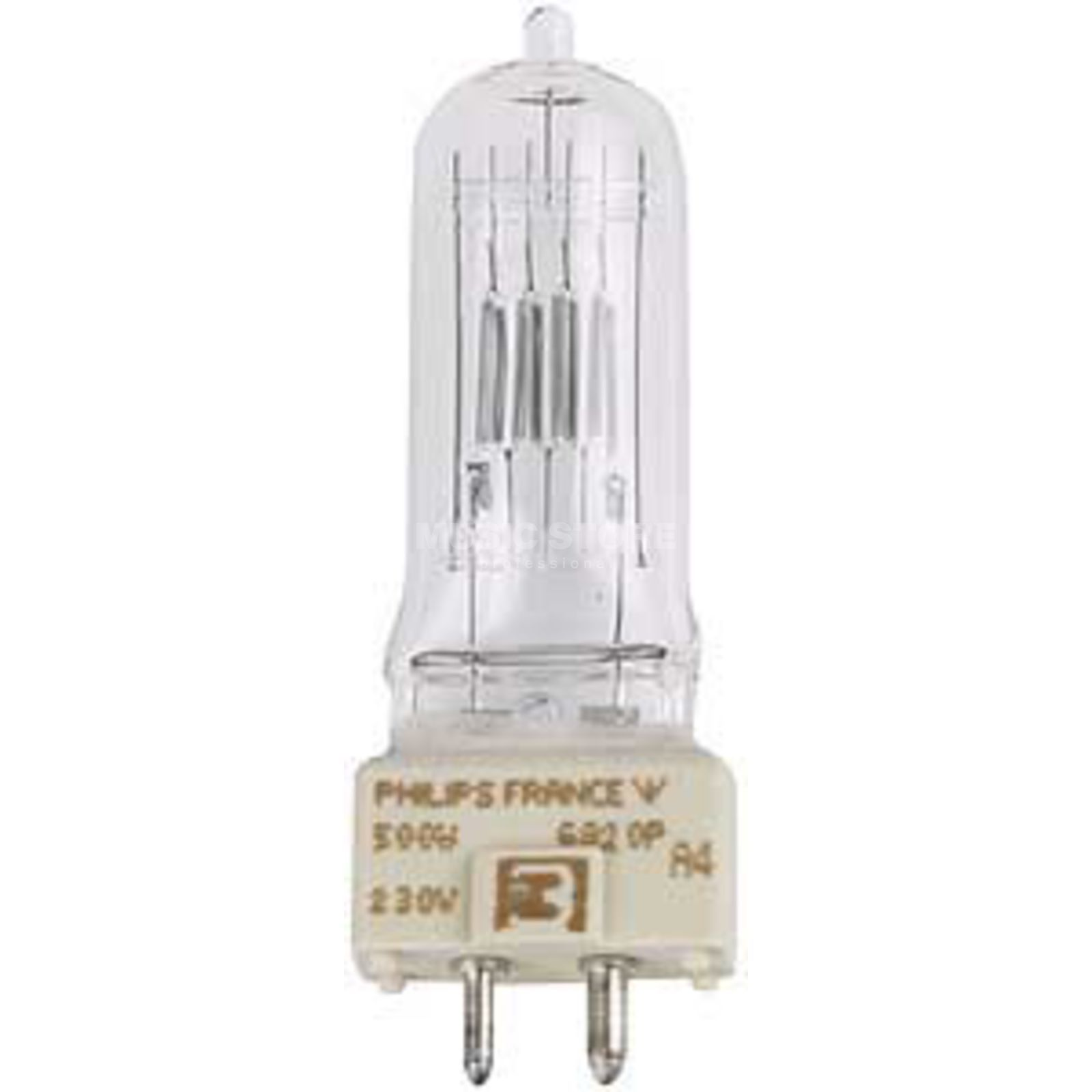 PHILIPS Bulb 500W/240V T25 GY9.5  Product Image