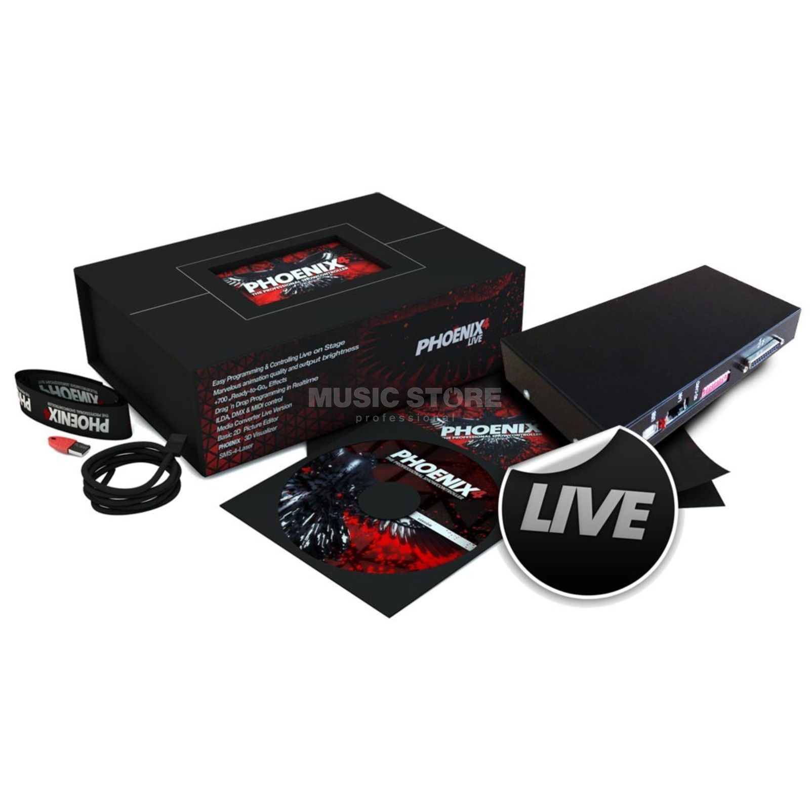 PHOENIX LIVE SET (inkl Micro-Net Slim) Lasersoftware / Interface Product Image
