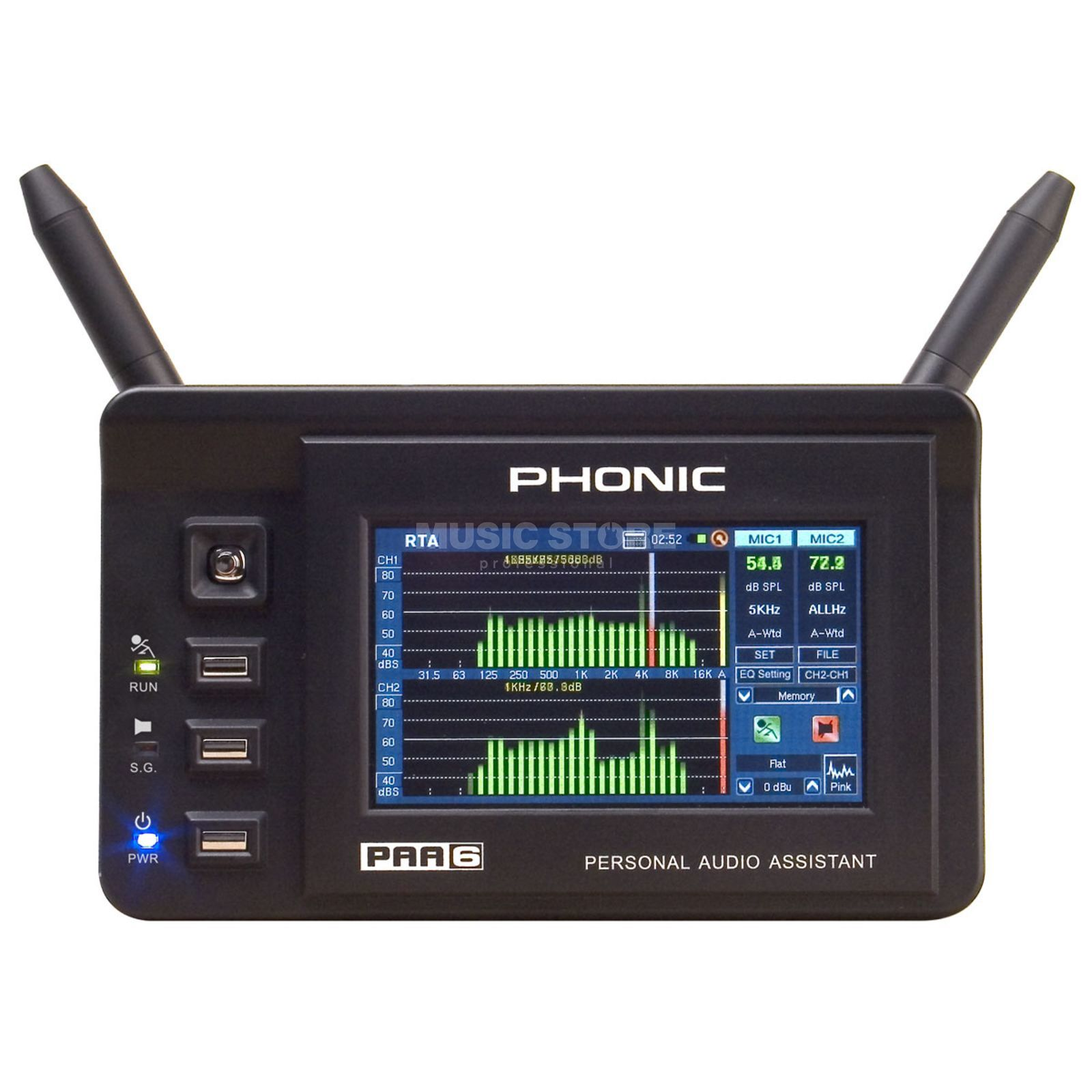 Phonic PAA-6 Analyzer  Produktbild