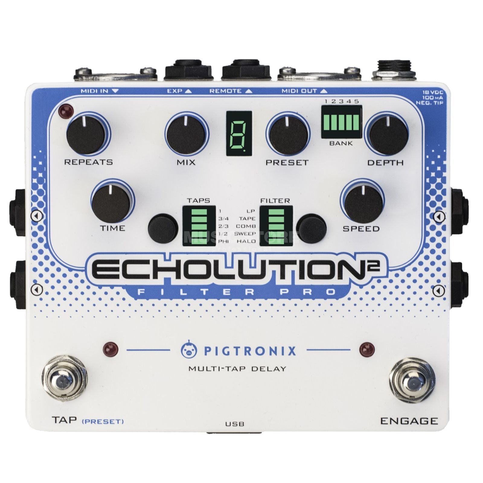Pigtronix Effects Echolution 2 Filter Pro Produktbild