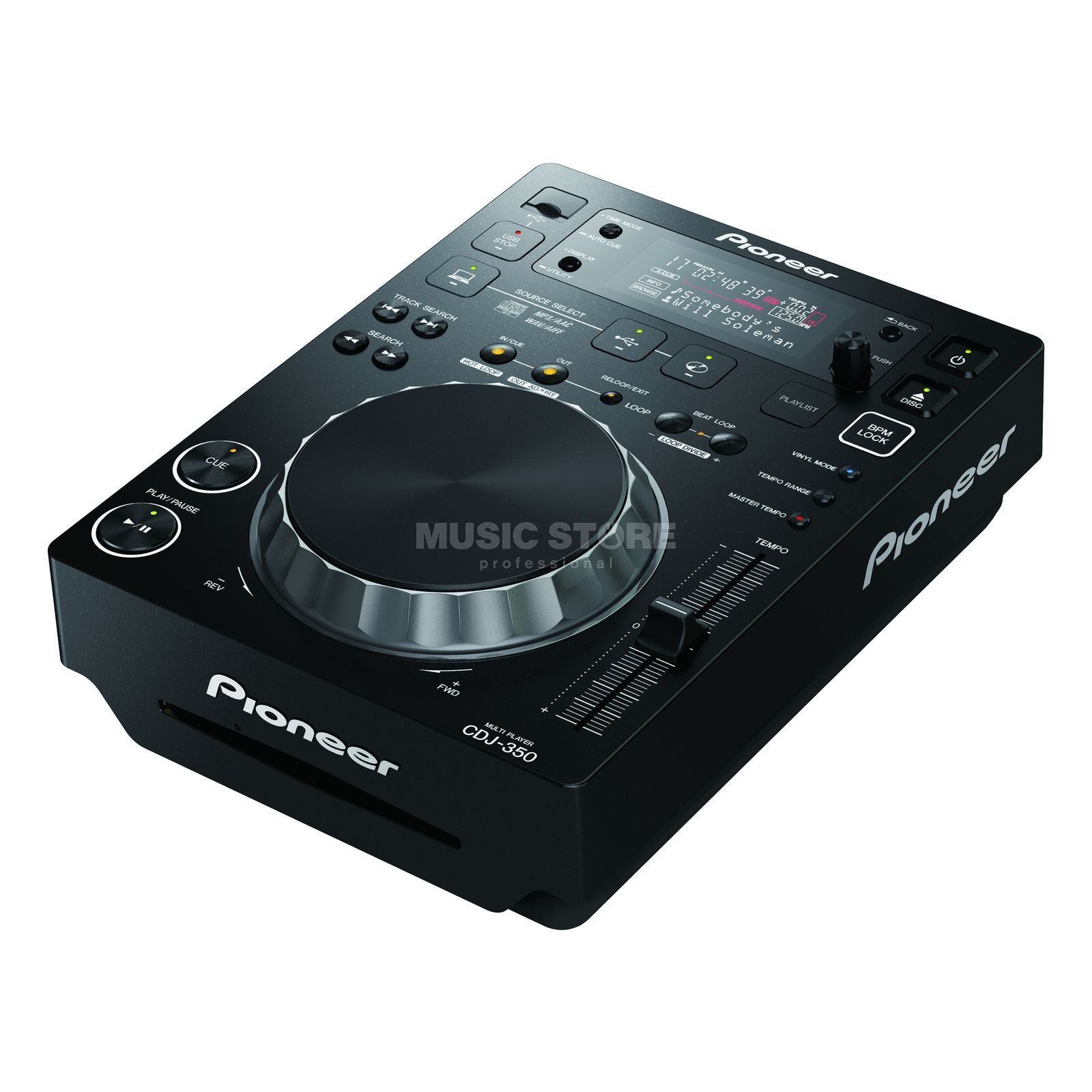 Pioneer CDJ-350 Digital Multi-Player Produktbillede