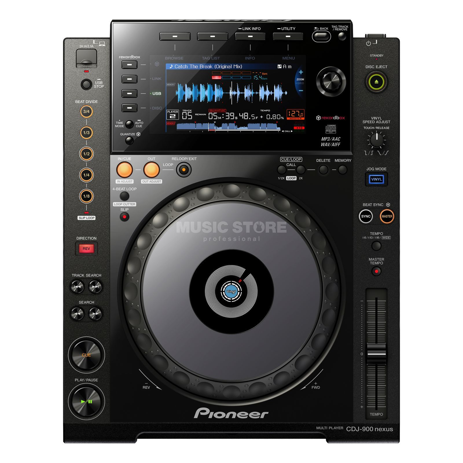 Pioneer CDJ-900NXS Digital Player Produktbild