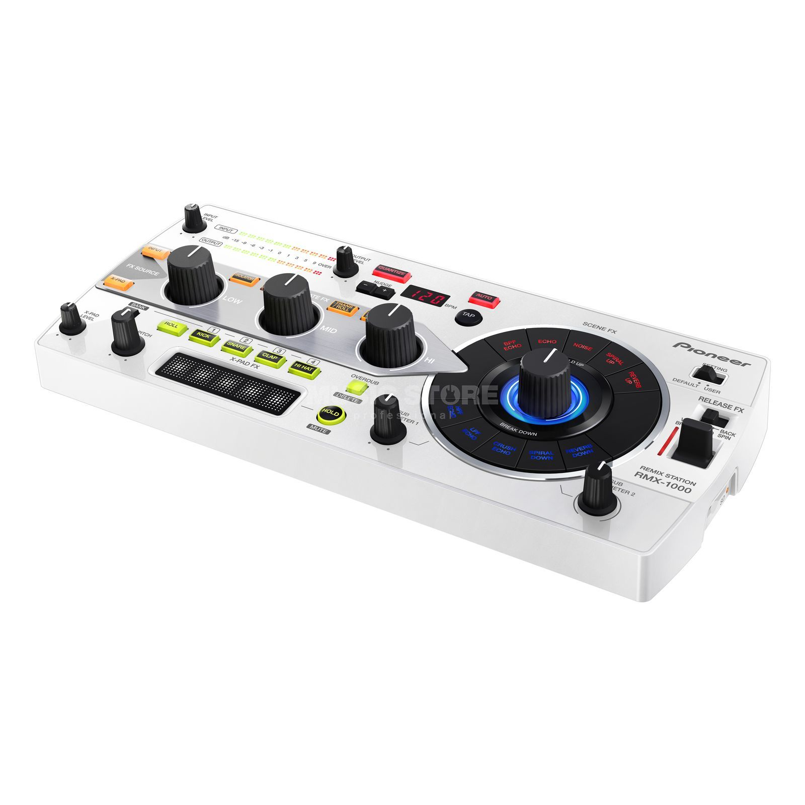 Pioneer DJ RMX-1000-W Remix Station, White Product Image