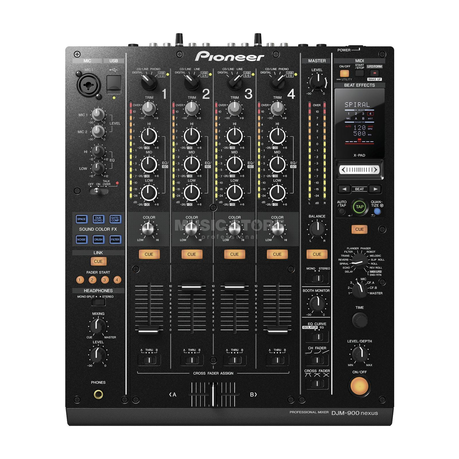 Pioneer DJM-900 Nexus Digital DJ Mixer Product Image