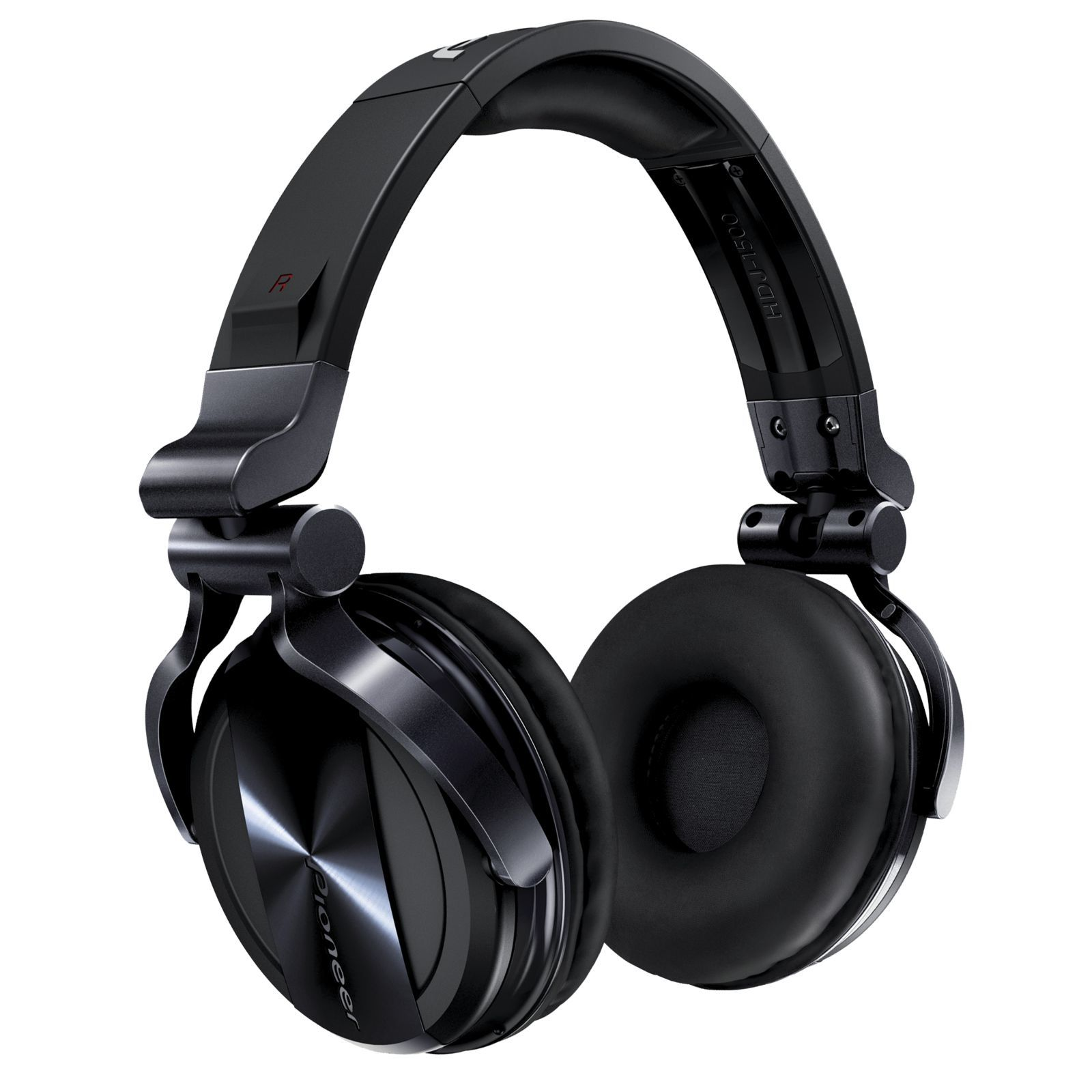 Pioneer HDJ-1500-K DJ Headphones, Black Изображение товара