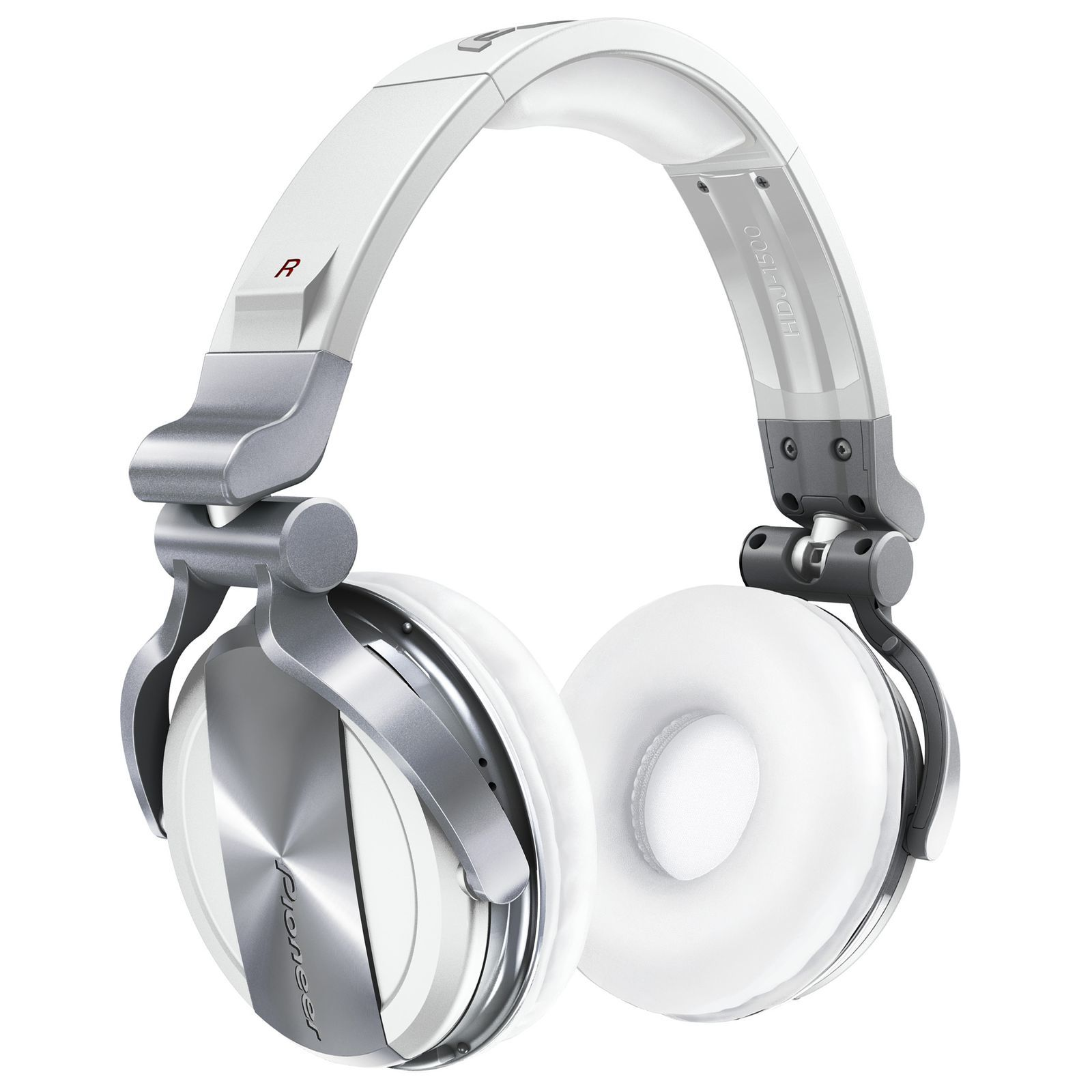 Pioneer HDJ-1500-W   DJ Headphones, White Изображение товара