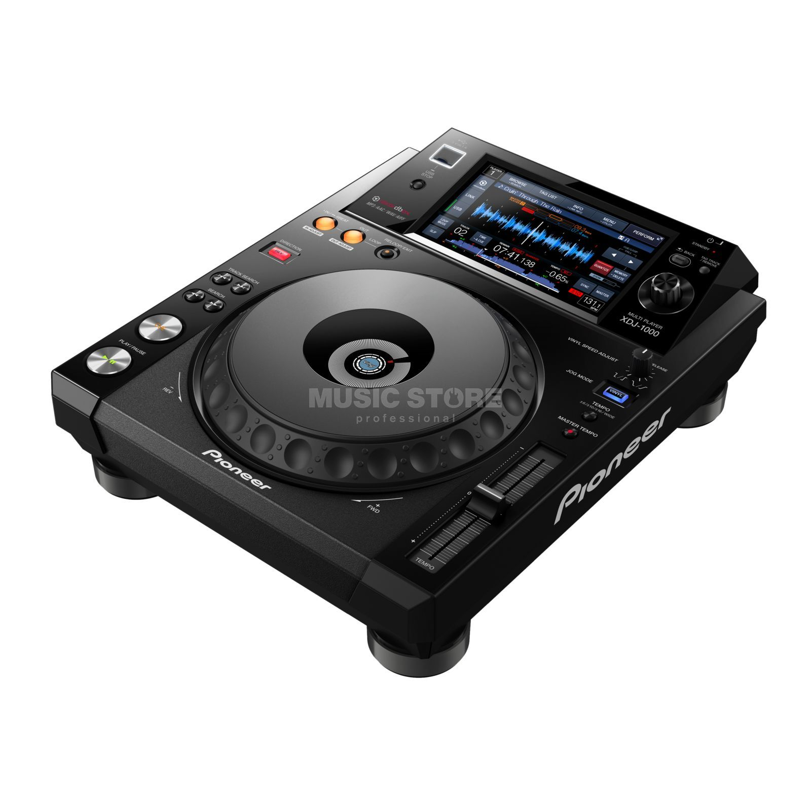 Pioneer XDJ-1000 USB-Player with Touchscreen Immagine prodotto