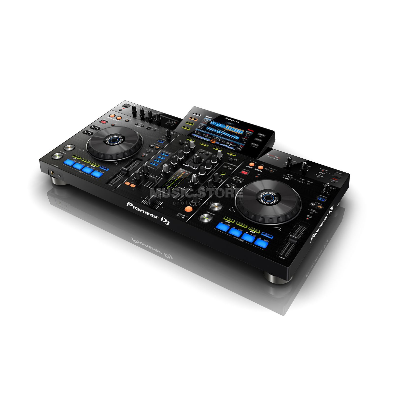 Pioneer XDJ-RX all-in-one rekordbox DJ-System Produktbild