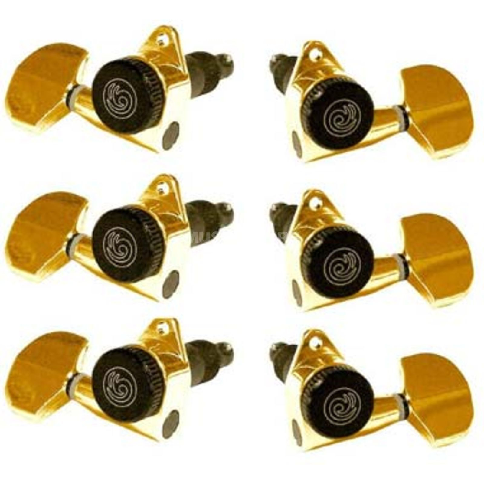 Planet Waves Auto-Trim Mechaniken 3 Rechts/3Links Gold Produktbild