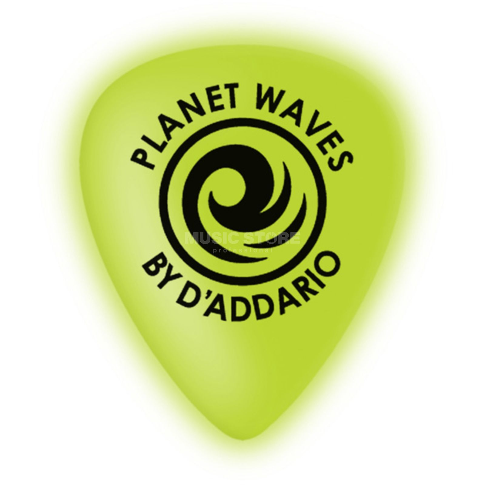 Planet Waves Cellu-Glo Picks 1,00mm heavy 10-Pack, Neon Grün, 1CCG6-10 Produktbild