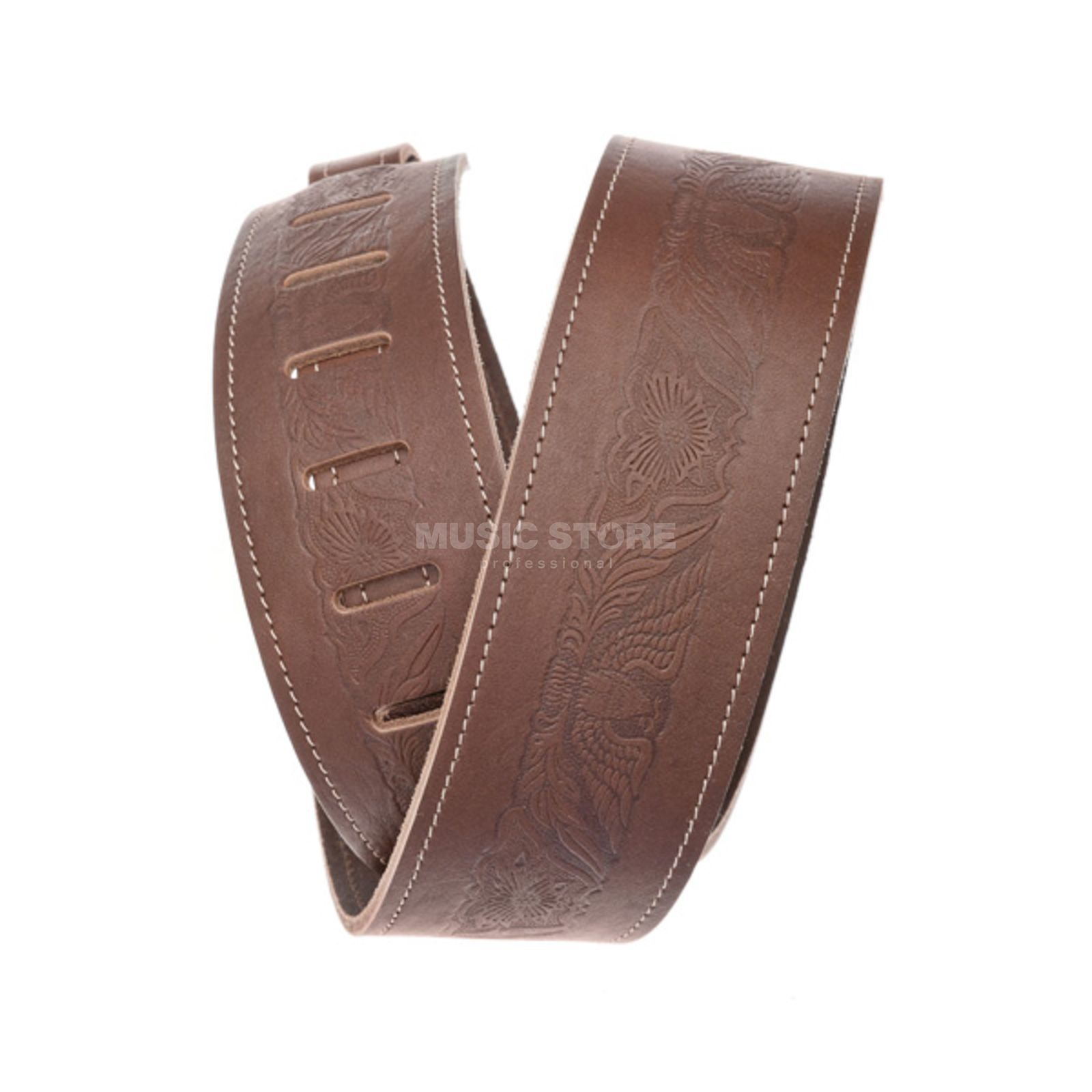Planet Waves Guitar Strap 25WSTE01 Brown Vinatage and Western Collection Produktbillede