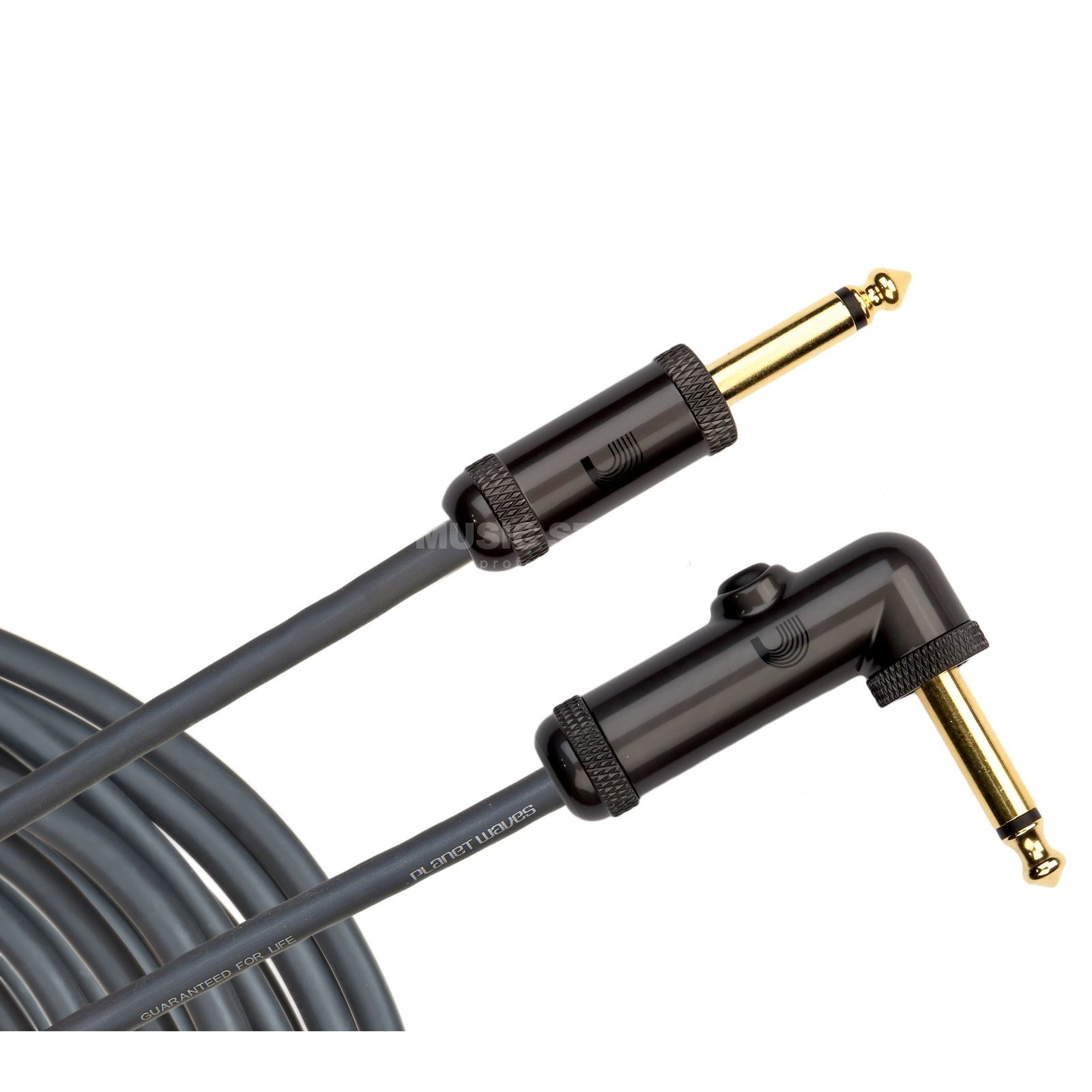 Planet Waves Instrument cable 3 meters PW-AGRA-10 angled Produktbillede
