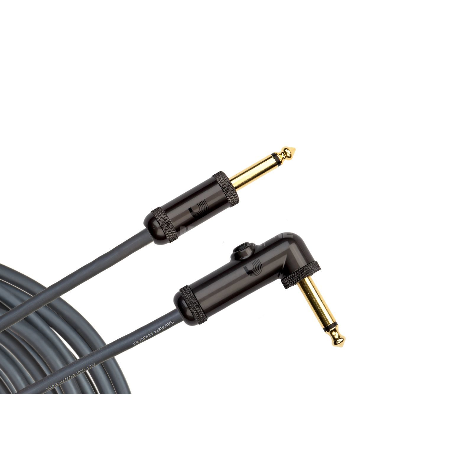Planet Waves Instrument cable 6 meters PW-AGRA-20 angled Produktbillede