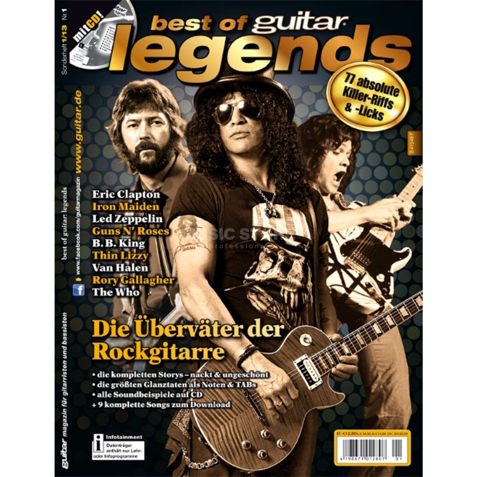 PPV Medien Best of Guitar: Legends Product Image