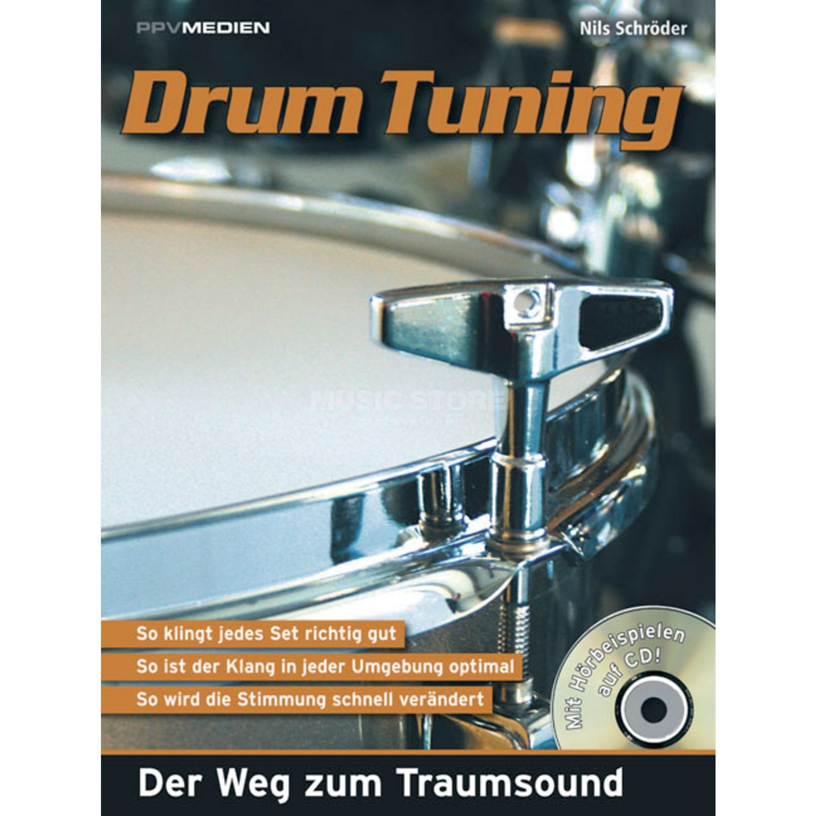 PPV Medien Drum Tuning Schröder, Buch incl. CD Productafbeelding