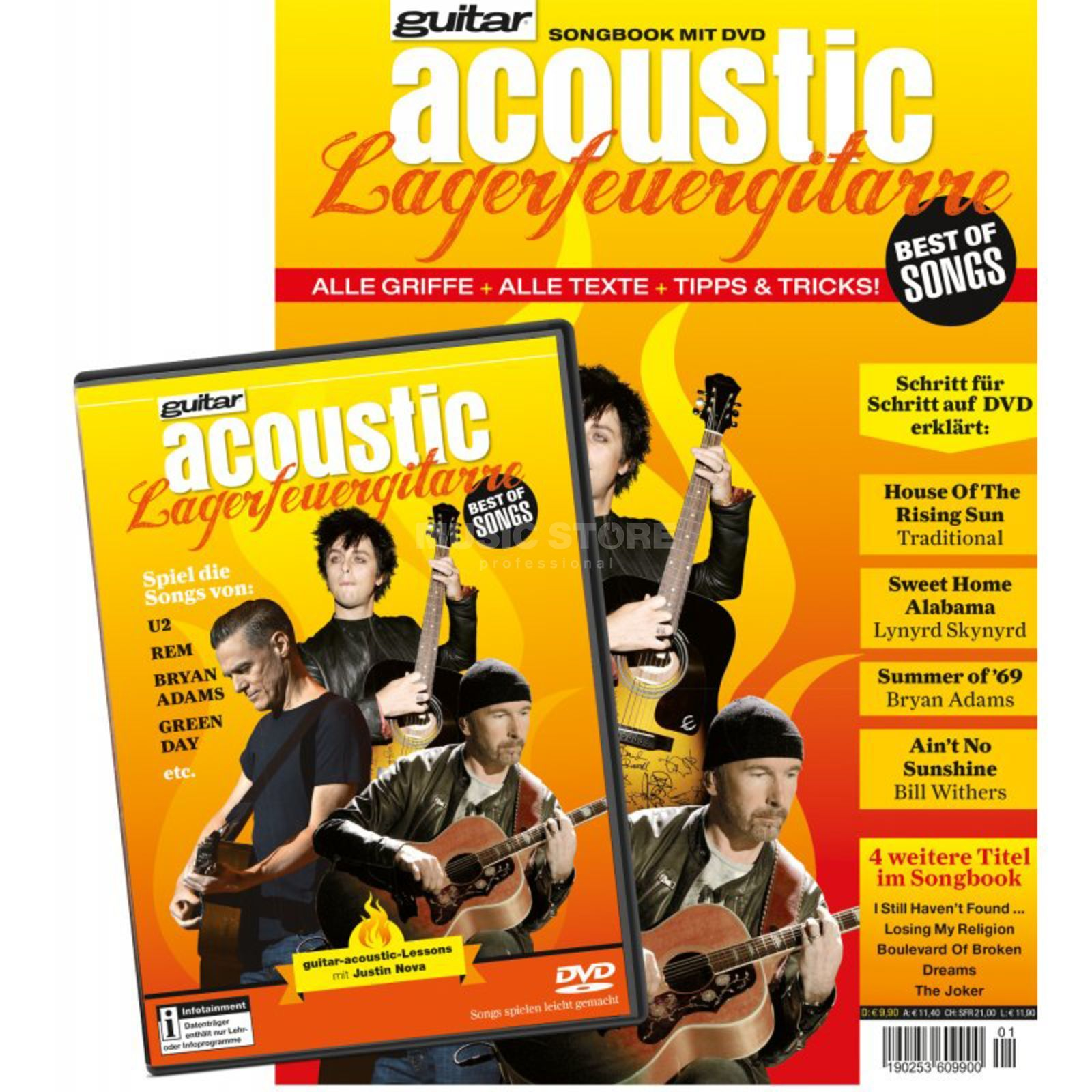 PPV Medien guitar acoustic: Lagerfeuergitarre Best of Songs Produktbillede