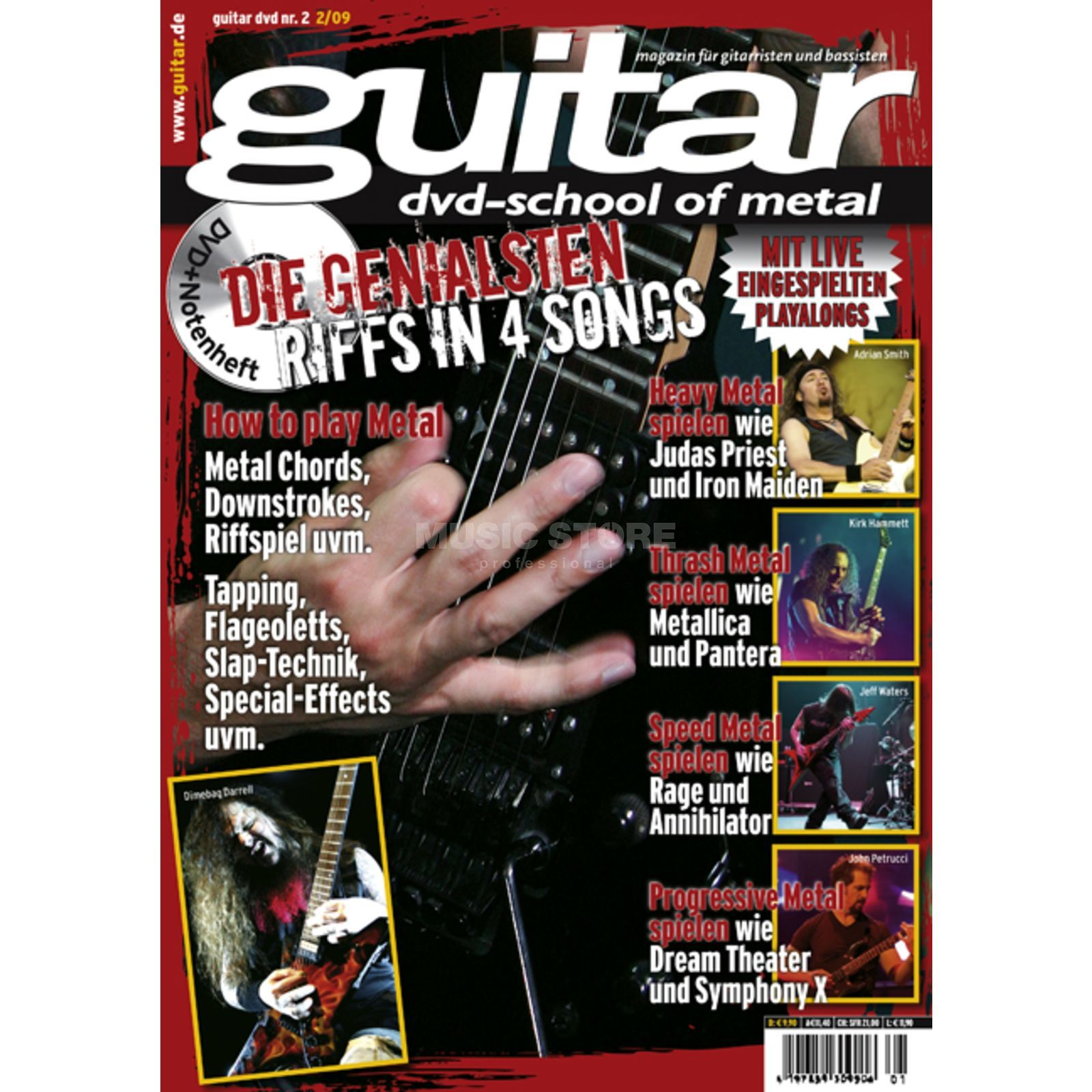 PPV Medien guitar Vol 2 - School of Metal DVD, Victor Smolski Produktbillede