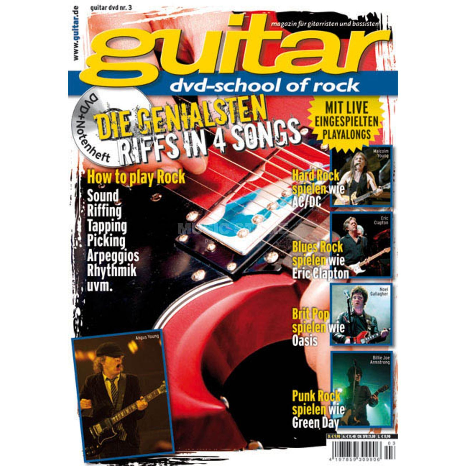 PPV Medien guitar Vol 3 - School of Rock DVD, Thomas Blug Produktbild