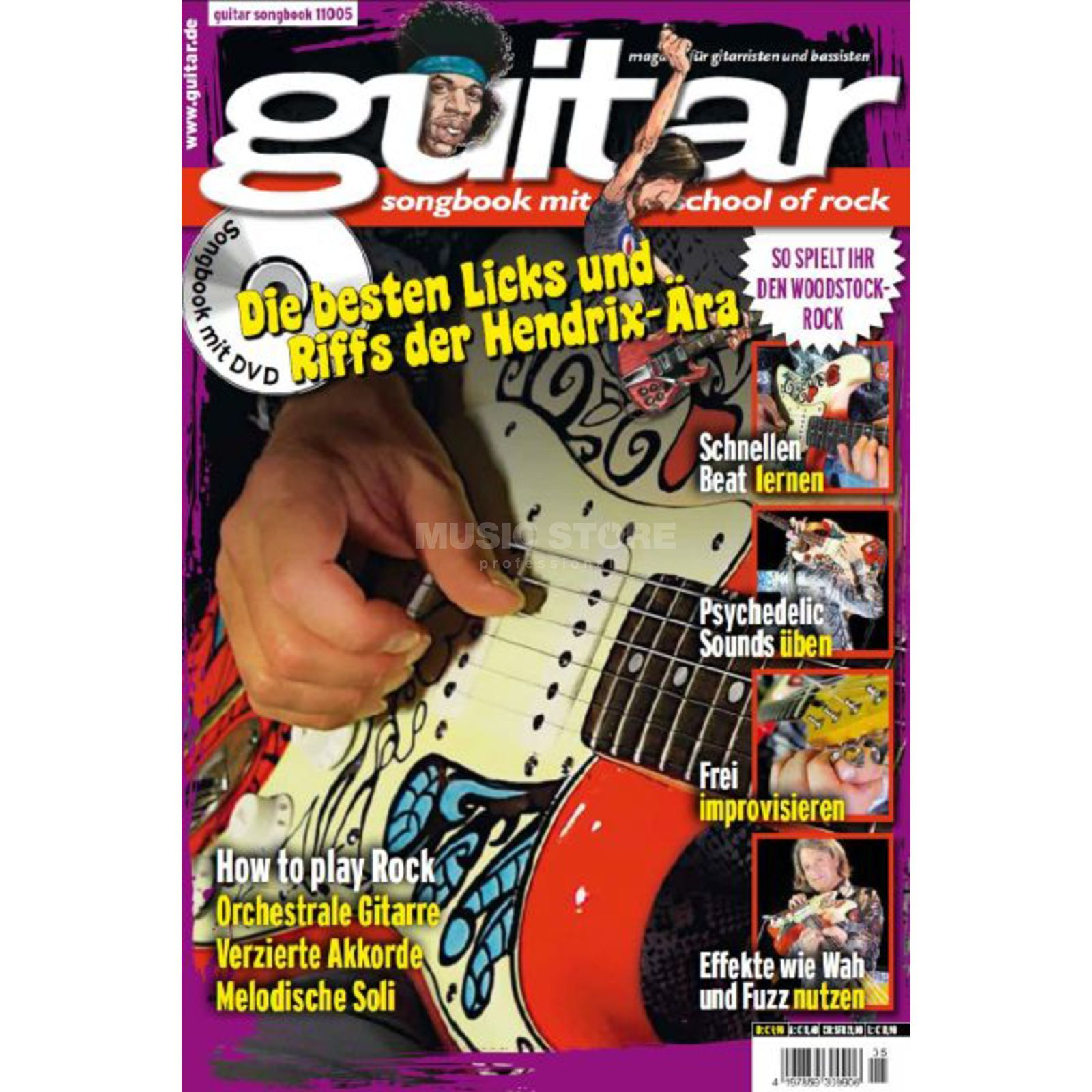 PPV Medien guitar Vol 6 - School of Rock DVD, Thomas Blug Produktbillede