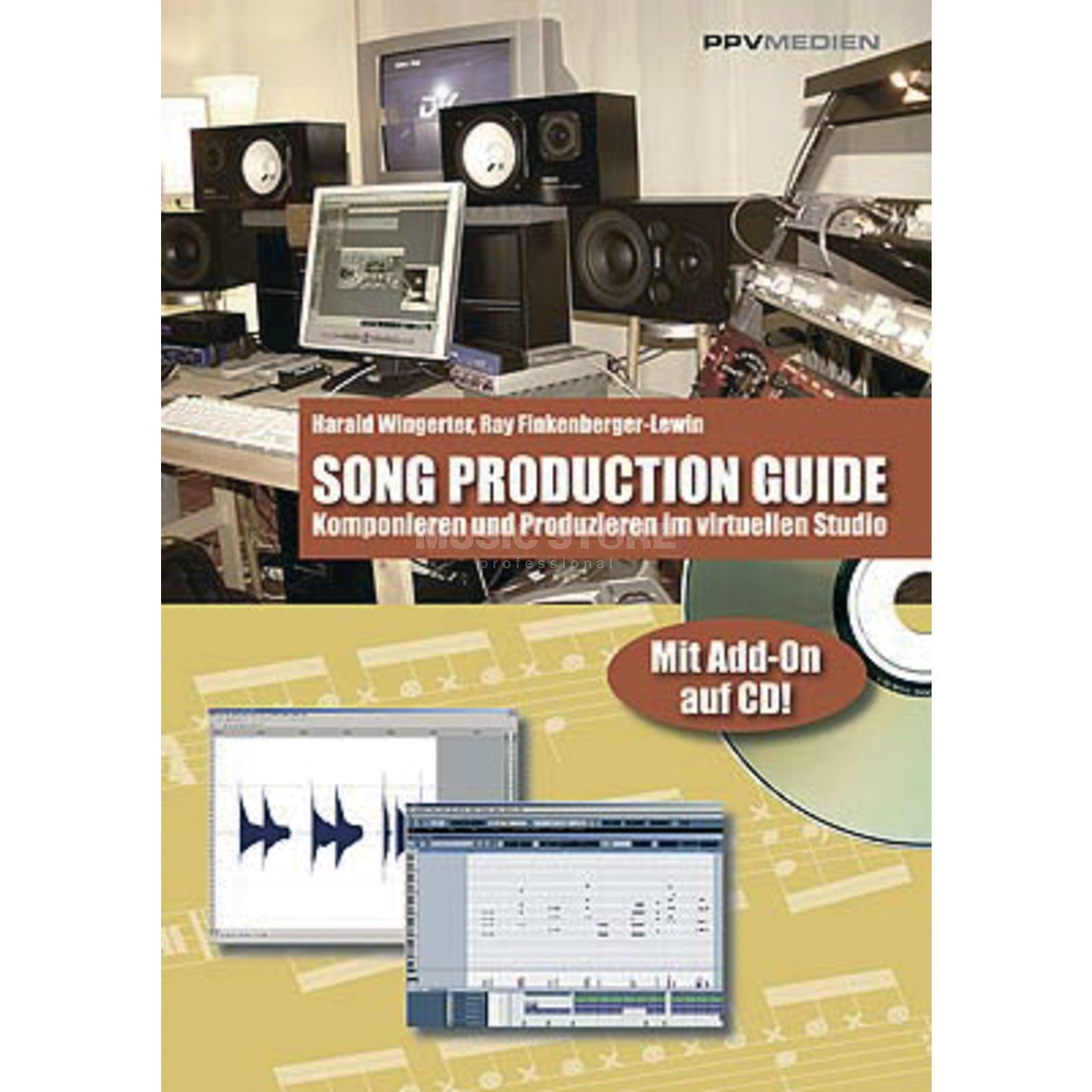 PPV Medien Song Production Guide Finkenberger-Lewin, Wingerter Produktbild
