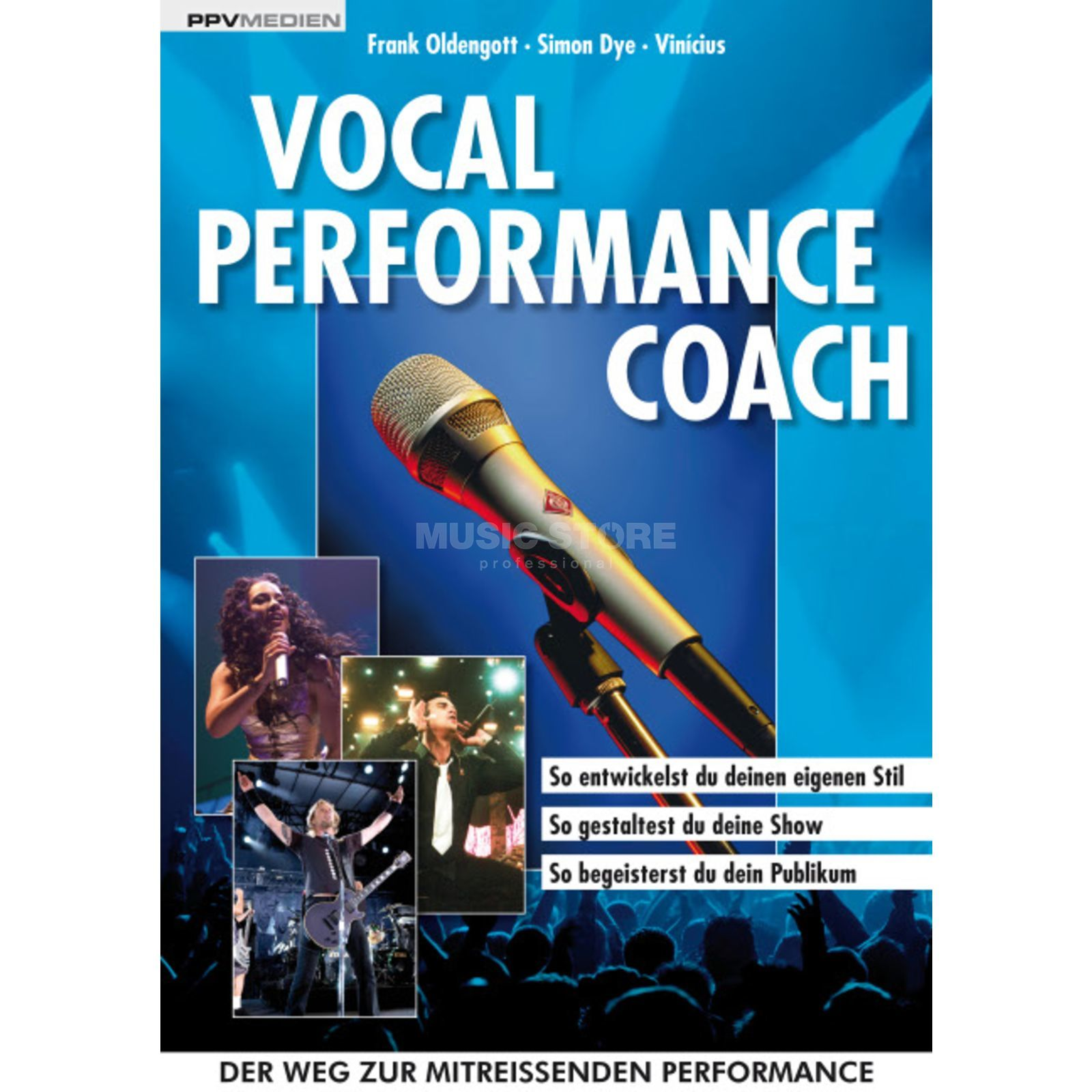 PPV Medien Vocal Performance Coach Oldengott, Dye, Vinicius Produktbild