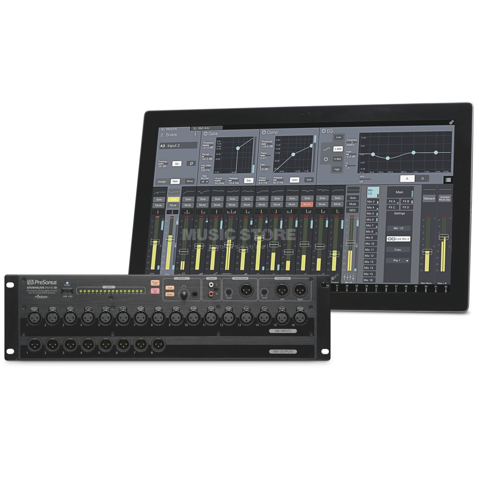 Presonus RM16AI Rack-Mixer with Total Recall Produktbillede