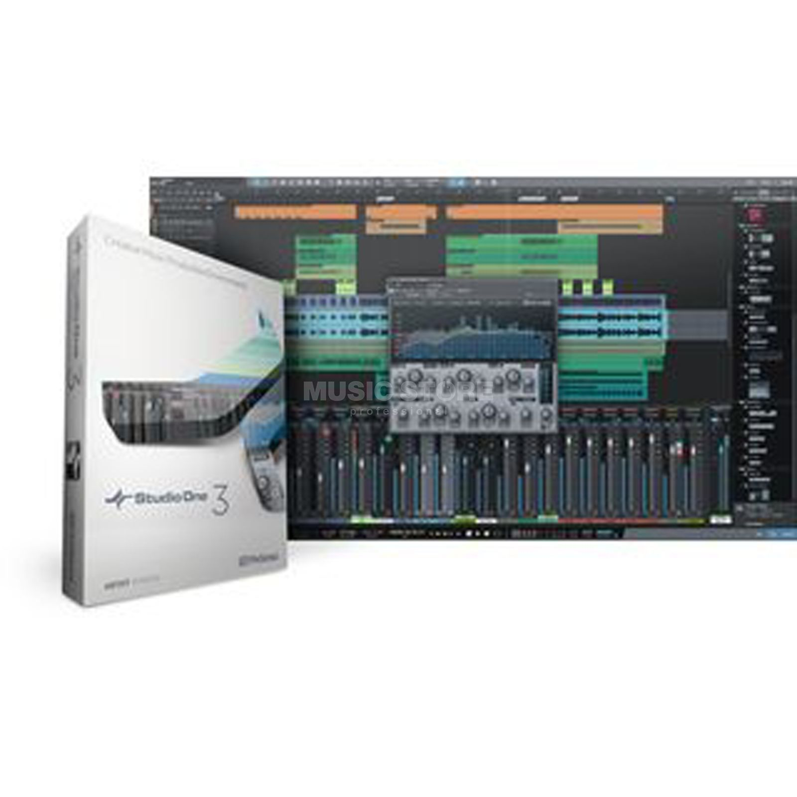 Presonus Studio One 3 Artist UP3 BOX Upgrade Artist 1+2 Produktbild