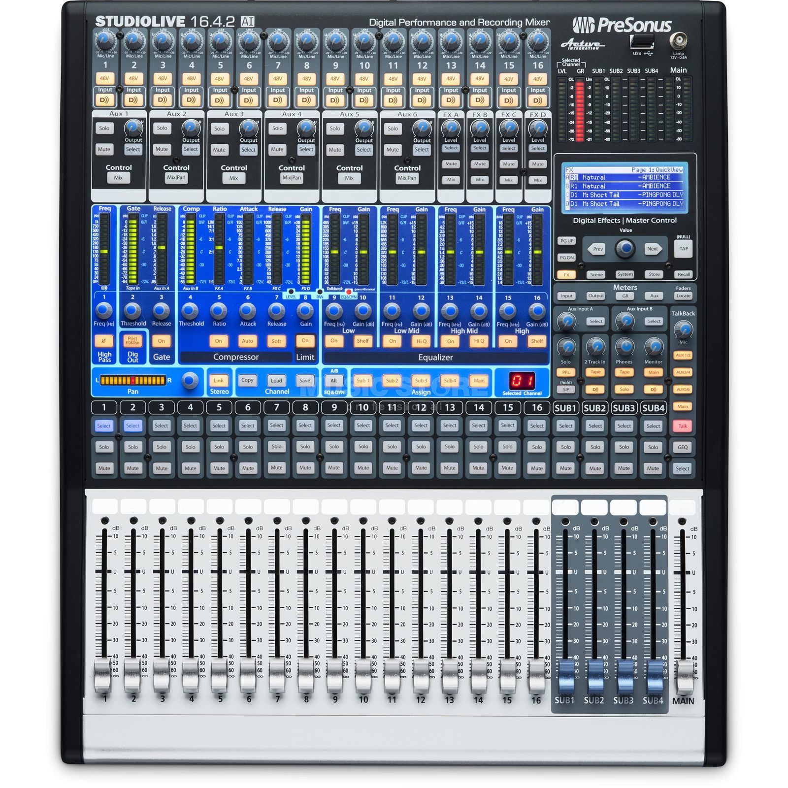 Presonus studiolive 16 4 2 ai for Fenster 4 16 4