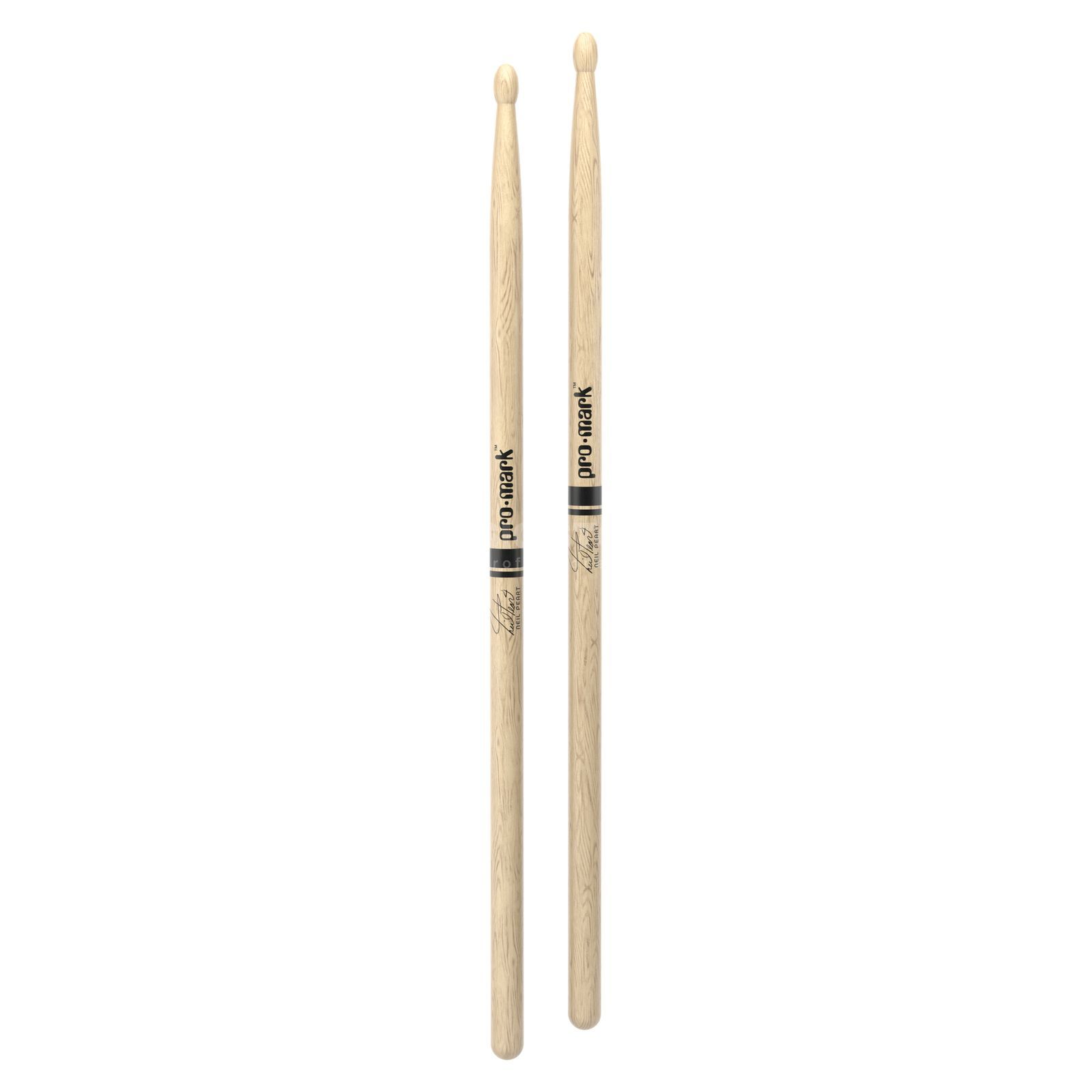PRO-MARK PW747W Neil Peart Sticks wit Oak Productafbeelding