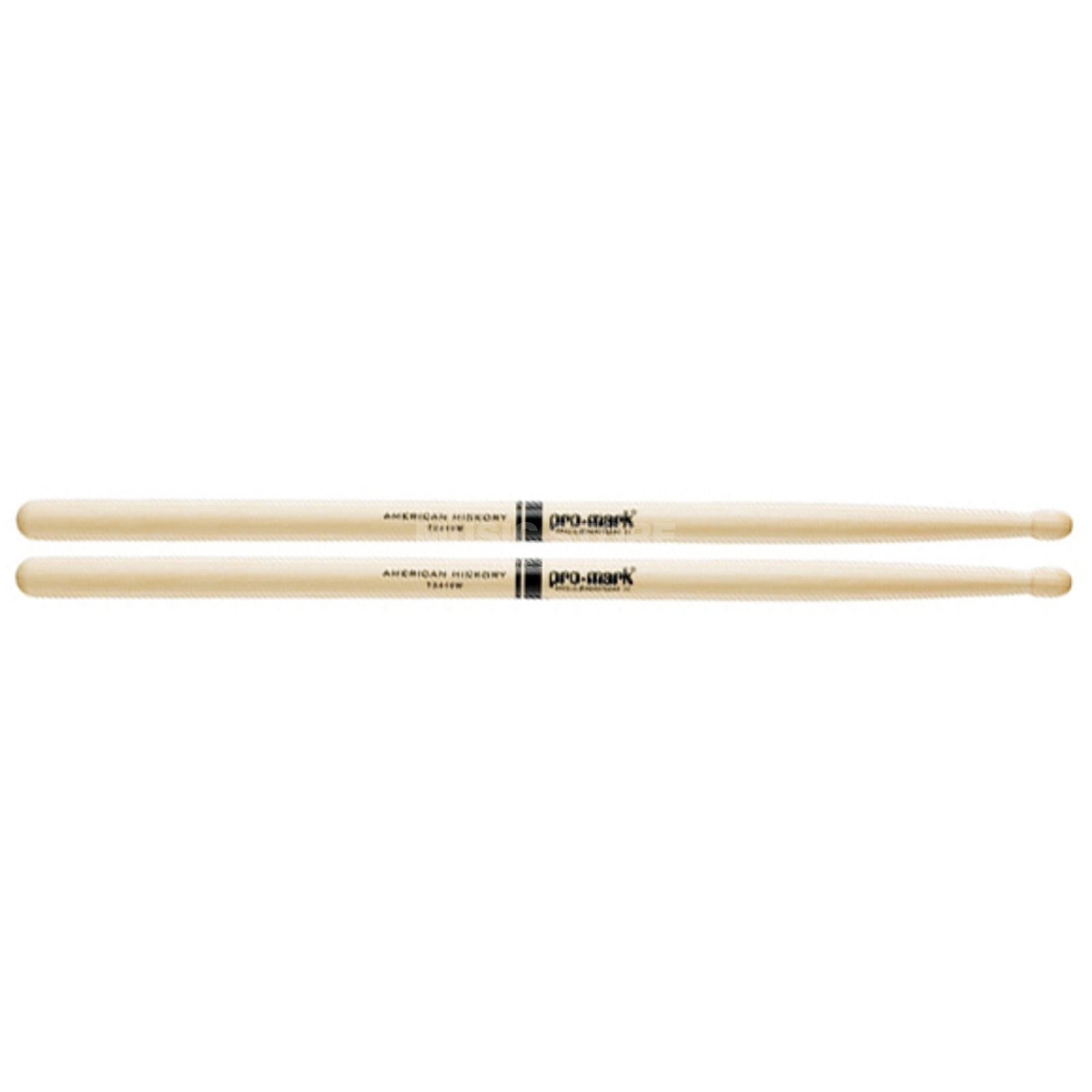 PRO-MARK TX419W Hickory Sticks, Wood Tip Produktbillede