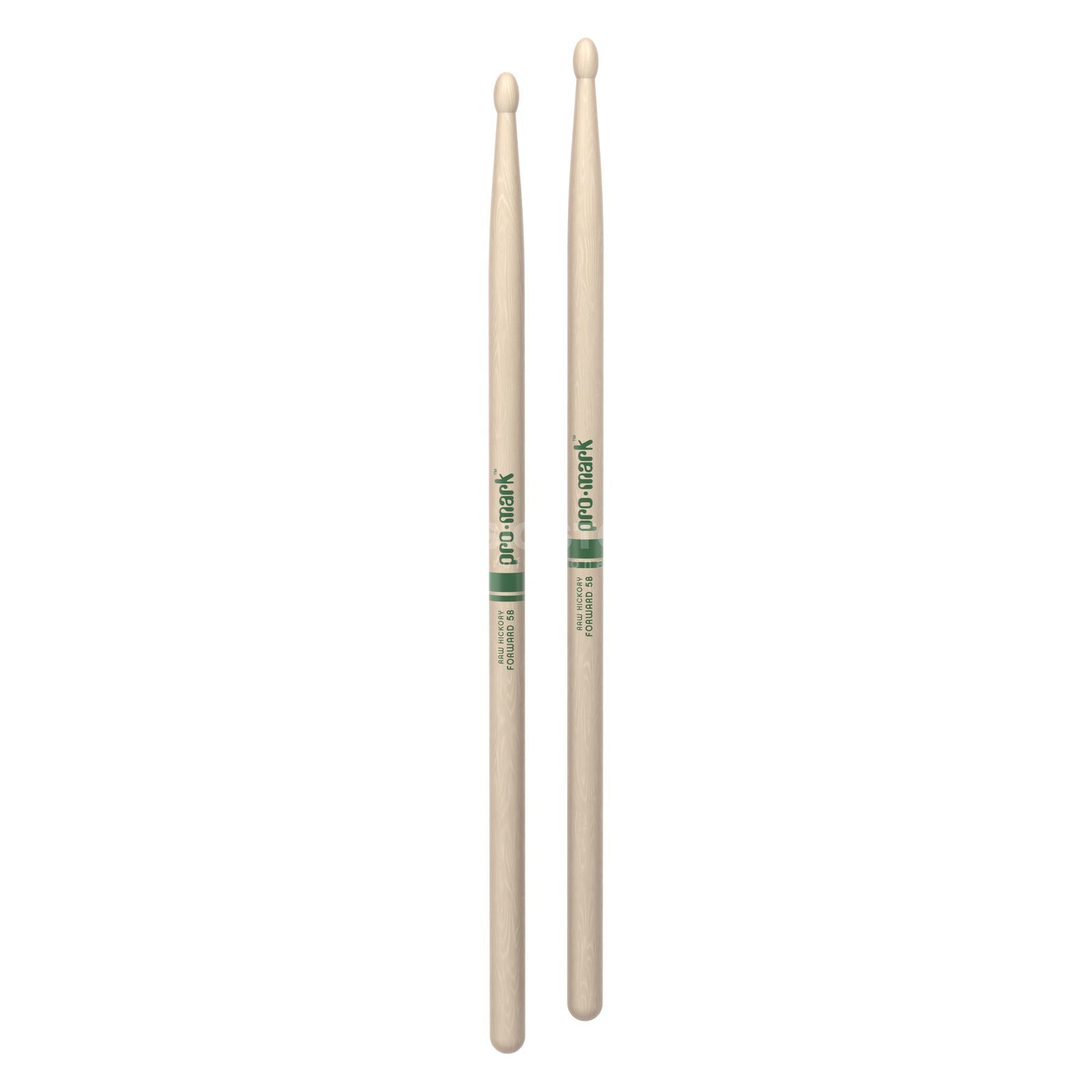 PRO-MARK TXR5BW Sticks Natural American Hickory, Wood Tip Produktbillede