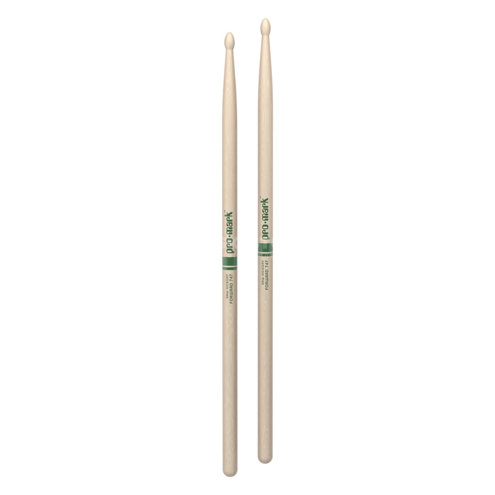 PRO-MARK TXR747W Rock Sticks, Natural American Hickory, WoodTip pair Immagine prodotto